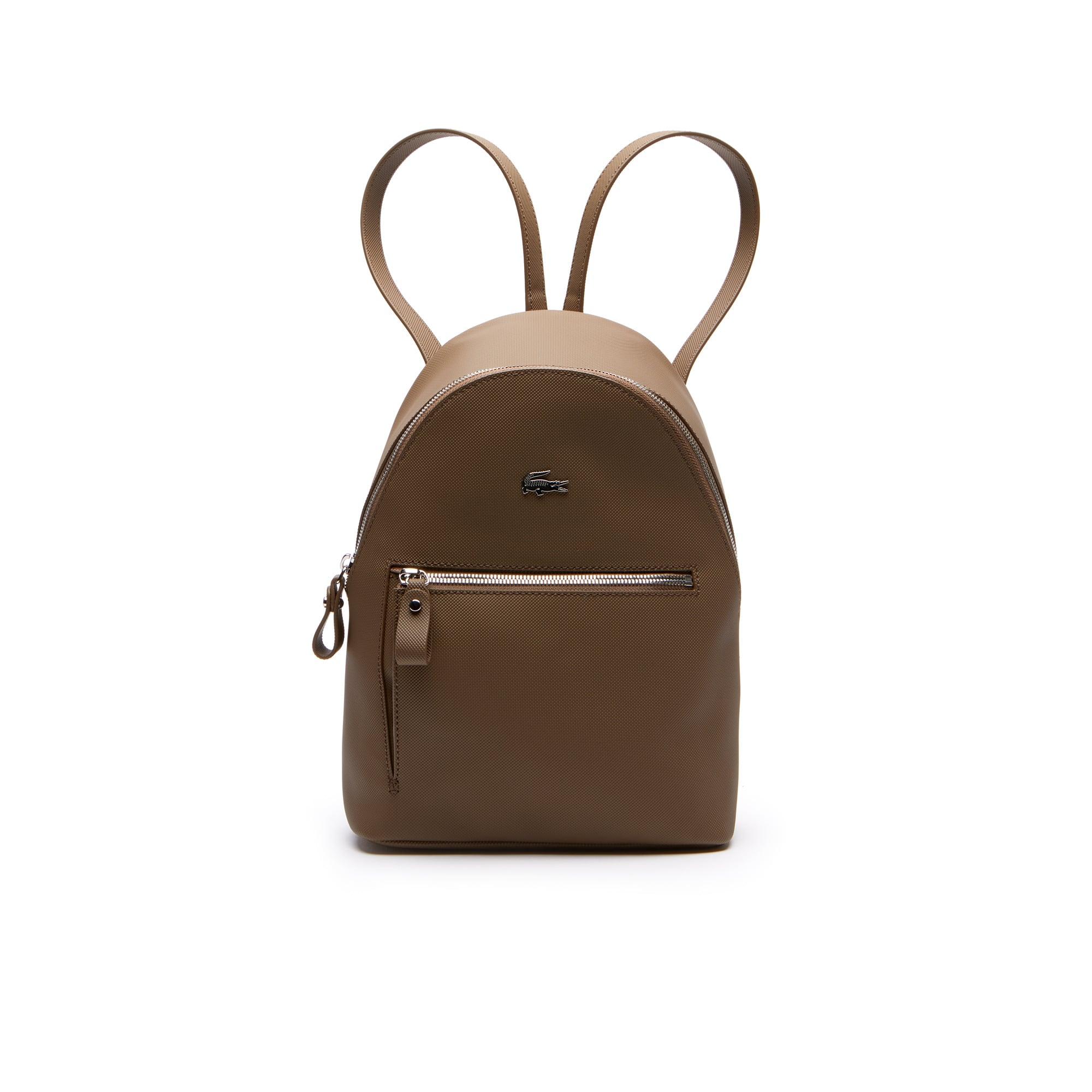 Damen-Rucksack DAILY CLASSIC aus beschichtetem Piqué-Canvas