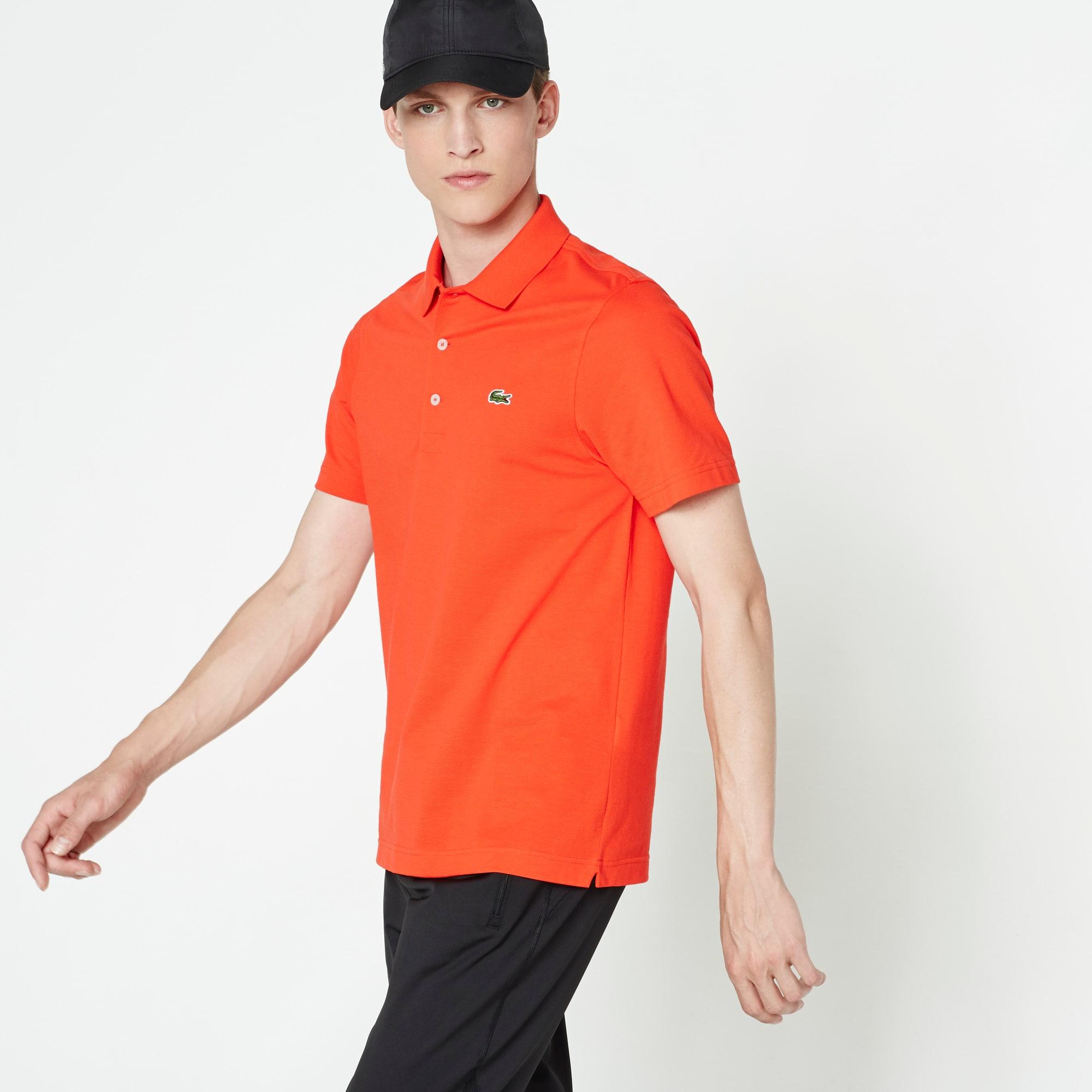 Regular Fit Polo aus ultra-leichter Strickware LACOSTESPORT