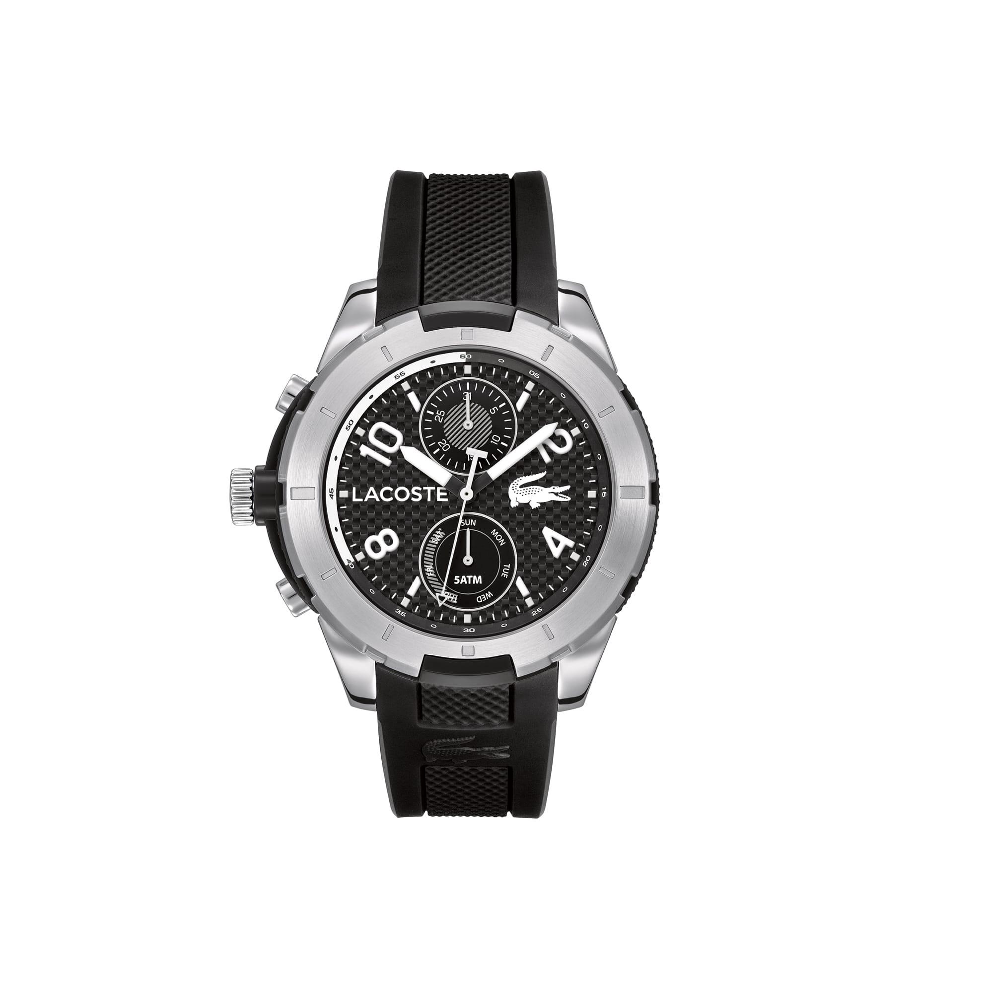 Uhr Tonga mit Silikon-Armband mit Piqué-Struktur