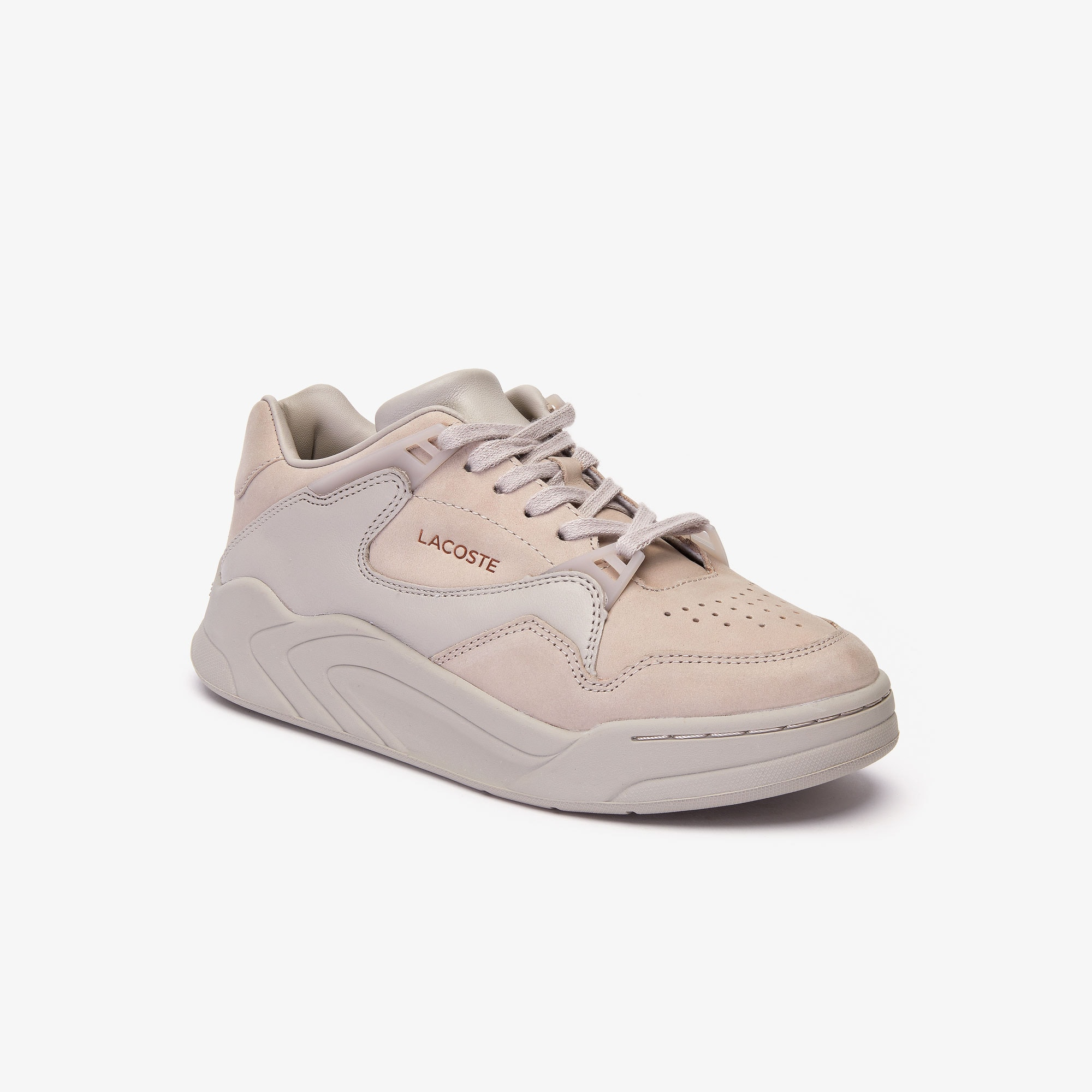 Damen-Sneakers COURT SLAM aus Nubukleder