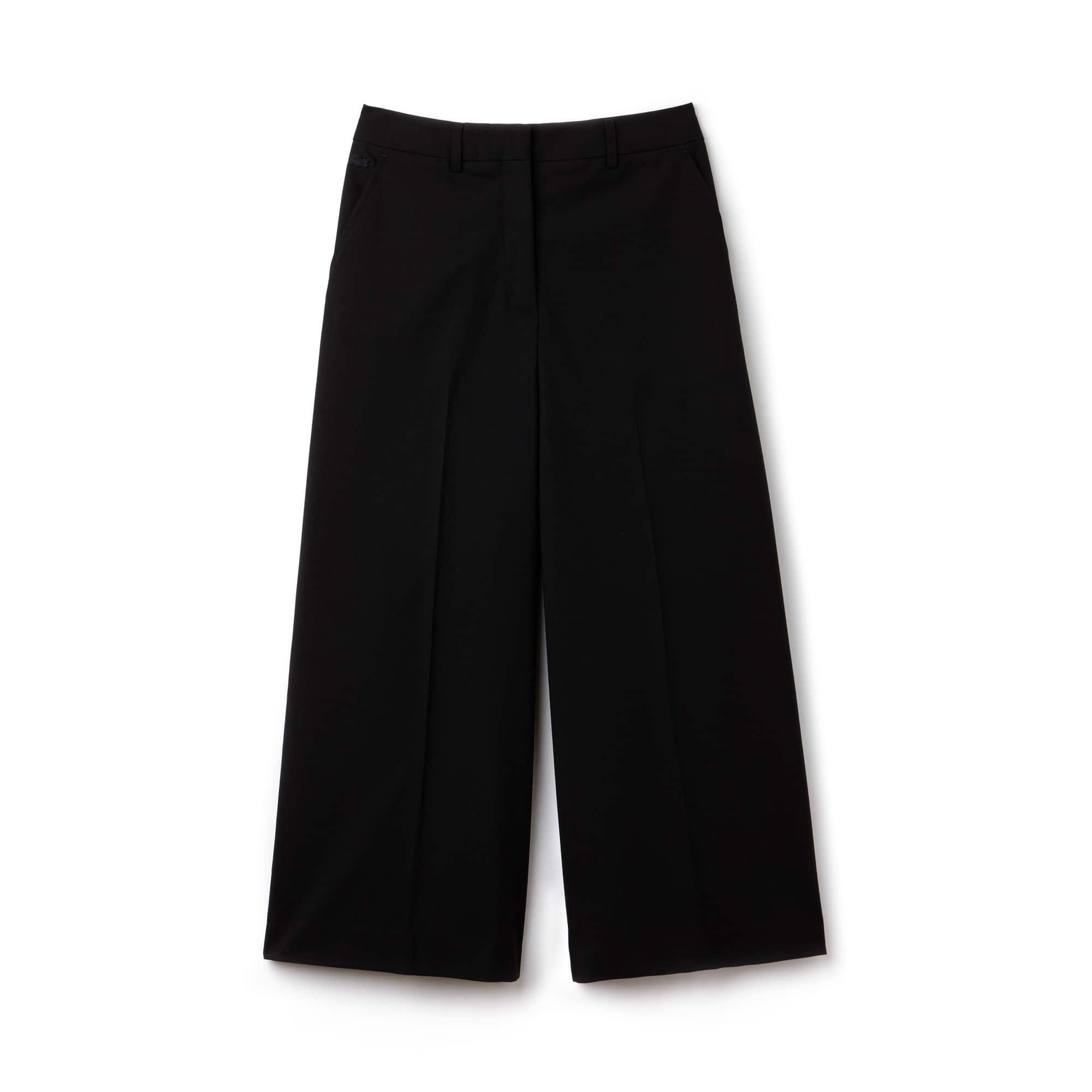 Damen-Hosenrock aus Krepp LACOSTE L!VE