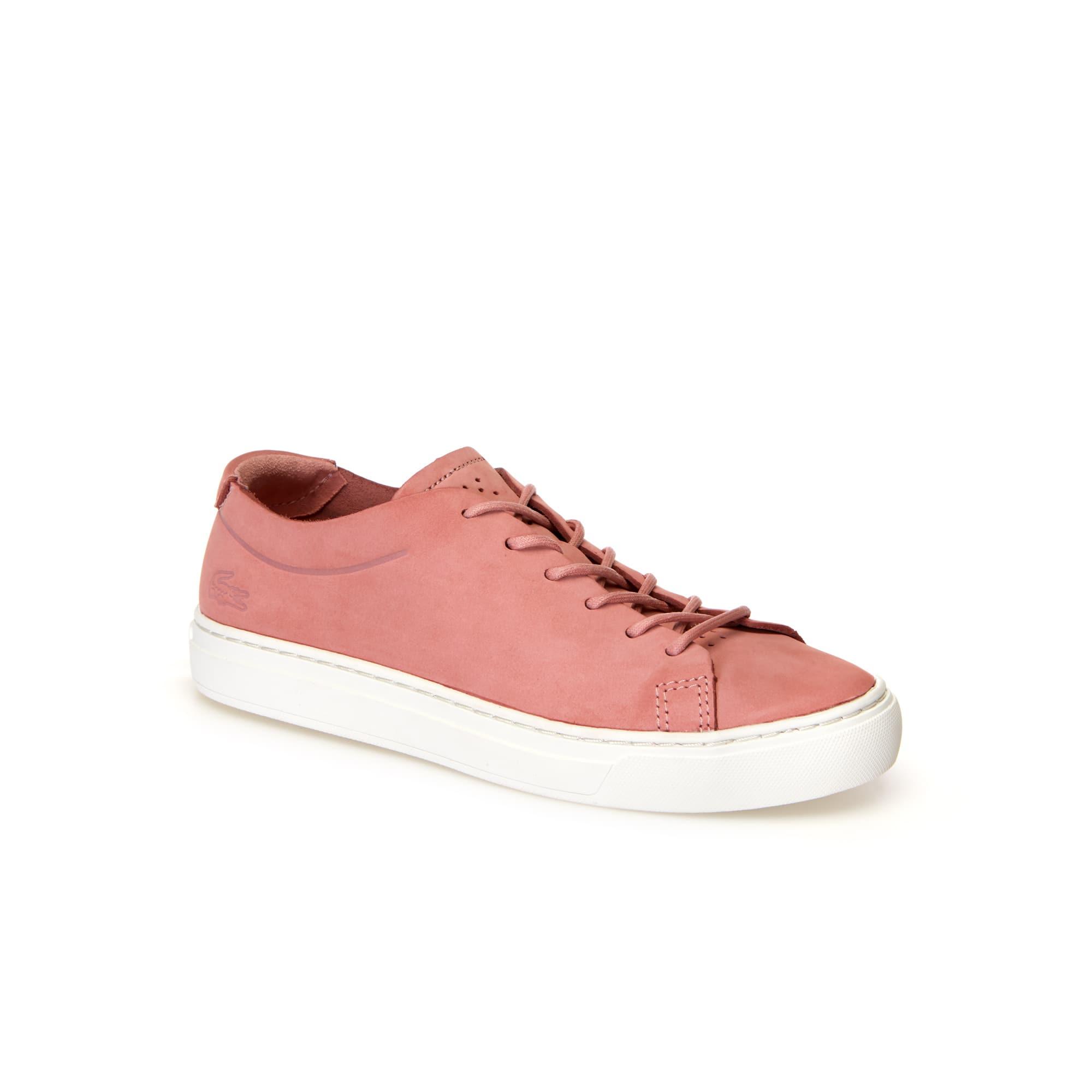 Damen-Sneakers L.12.12 UNLINED aus Nubukleder