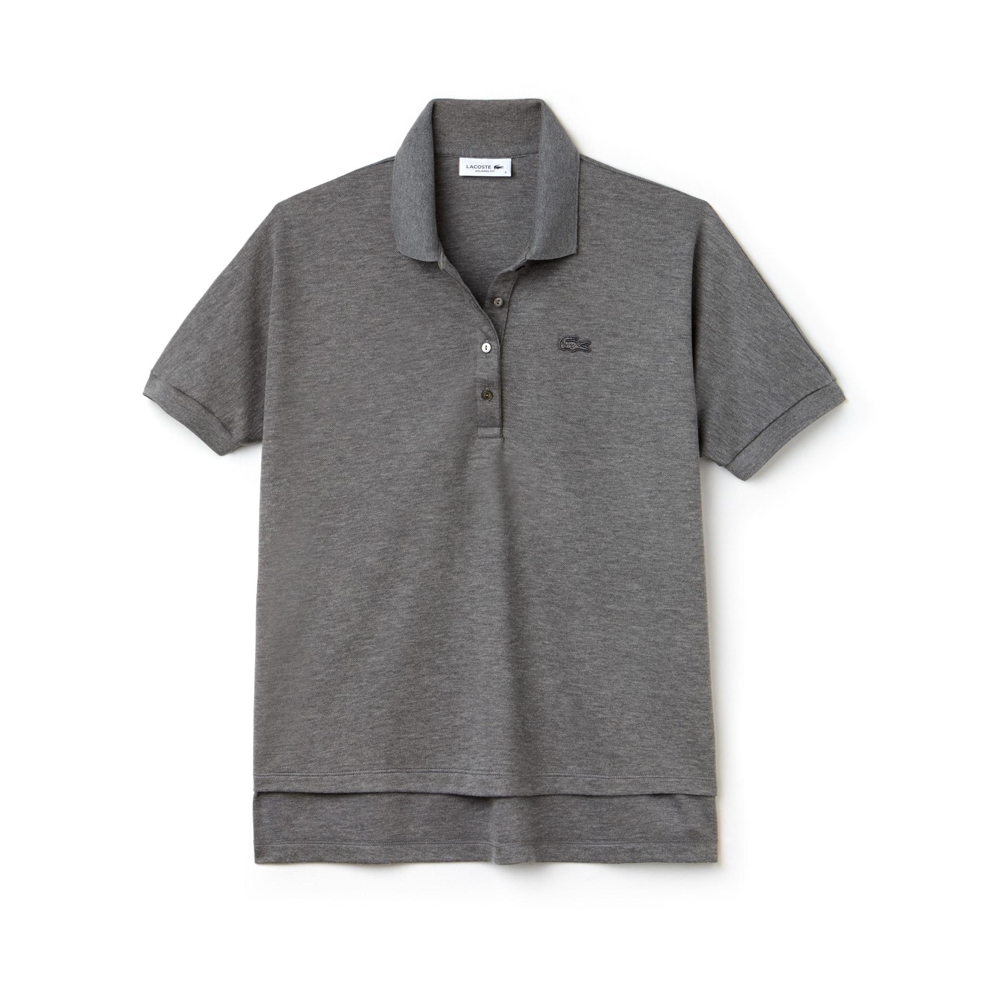Damen LACOSTE Relax Fit Poloshirt aus Baumwoll-Piqué mit Stretch