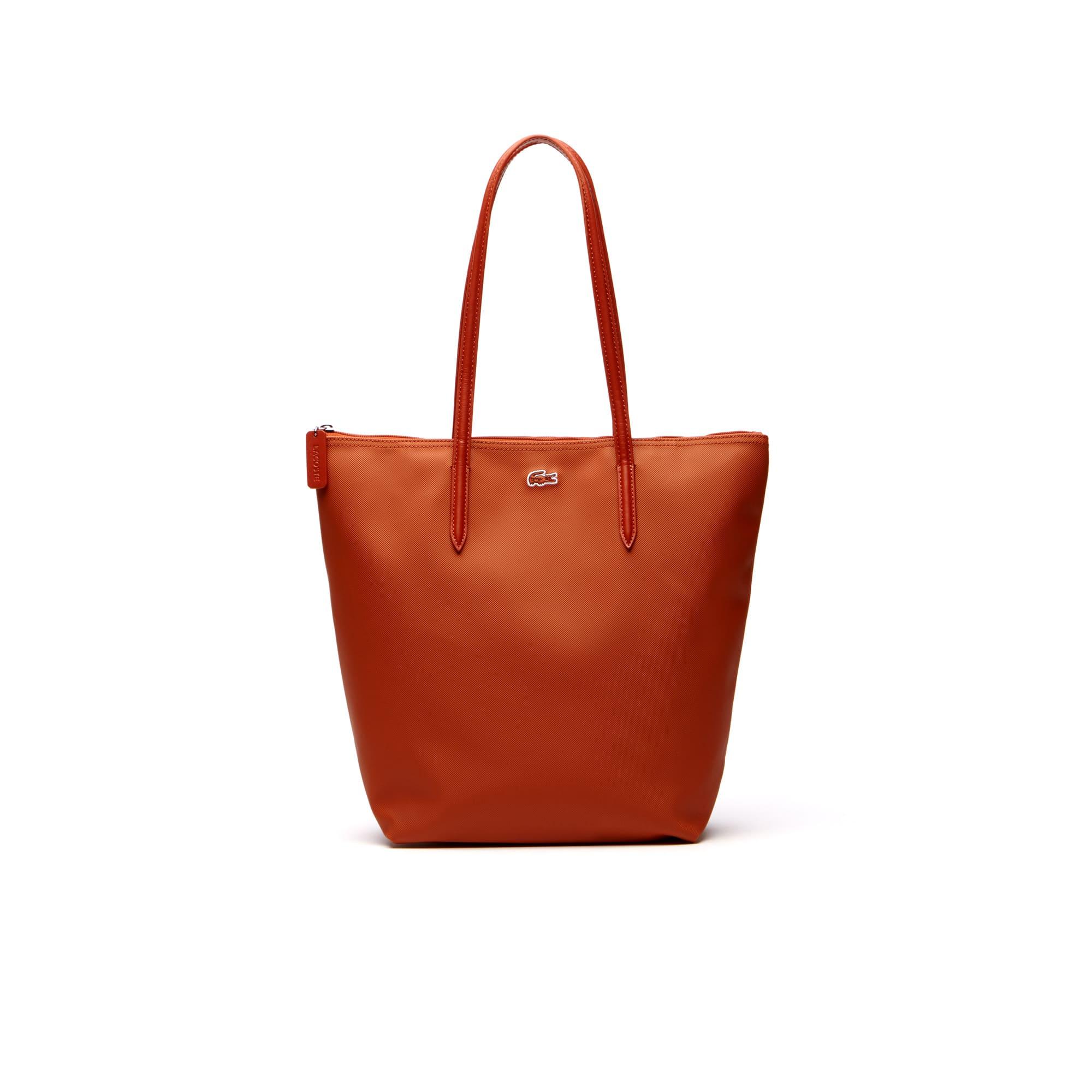 Damen L.12.12 Concept Vertikale Tote Bag mit Reißverschluss