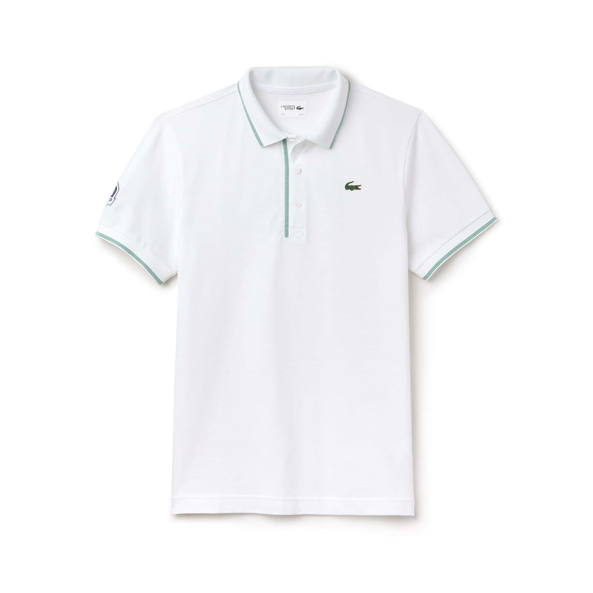 Herren LACOSTE SPORT Ryder Cup Edition Golf Poloshirt mit Paspeln