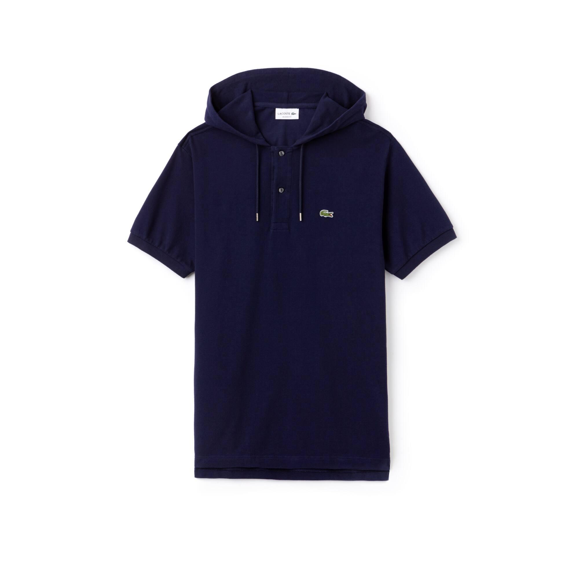 Herren Poloshirt aus Petit Piqué