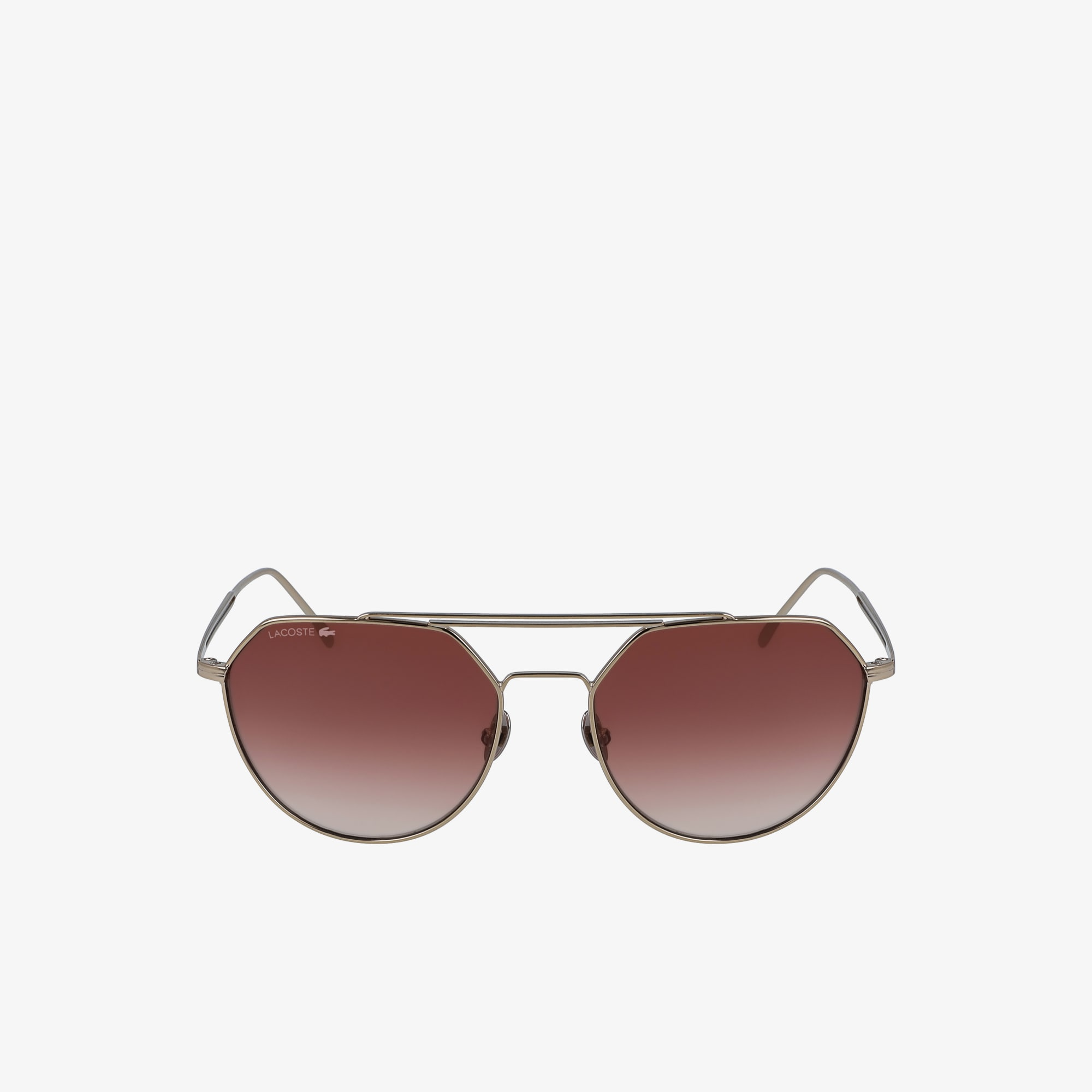 Paris Collection-Sonnenbrille mit ovalem Metallrahmen