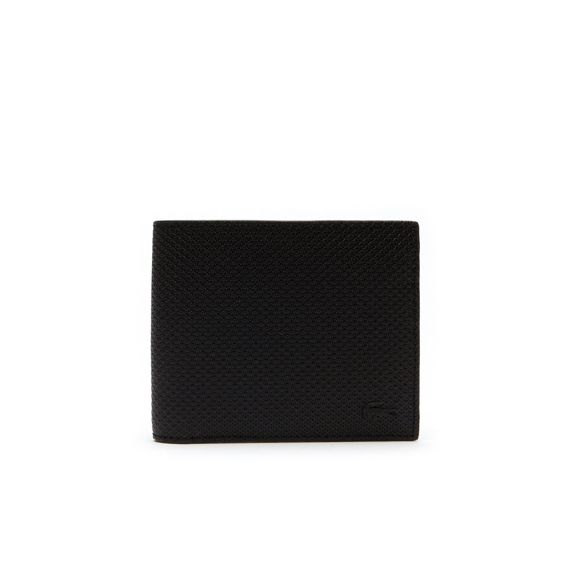 Herren-Set Brieftasche und Kartenetui CHANTACO aus Piqué-Leder