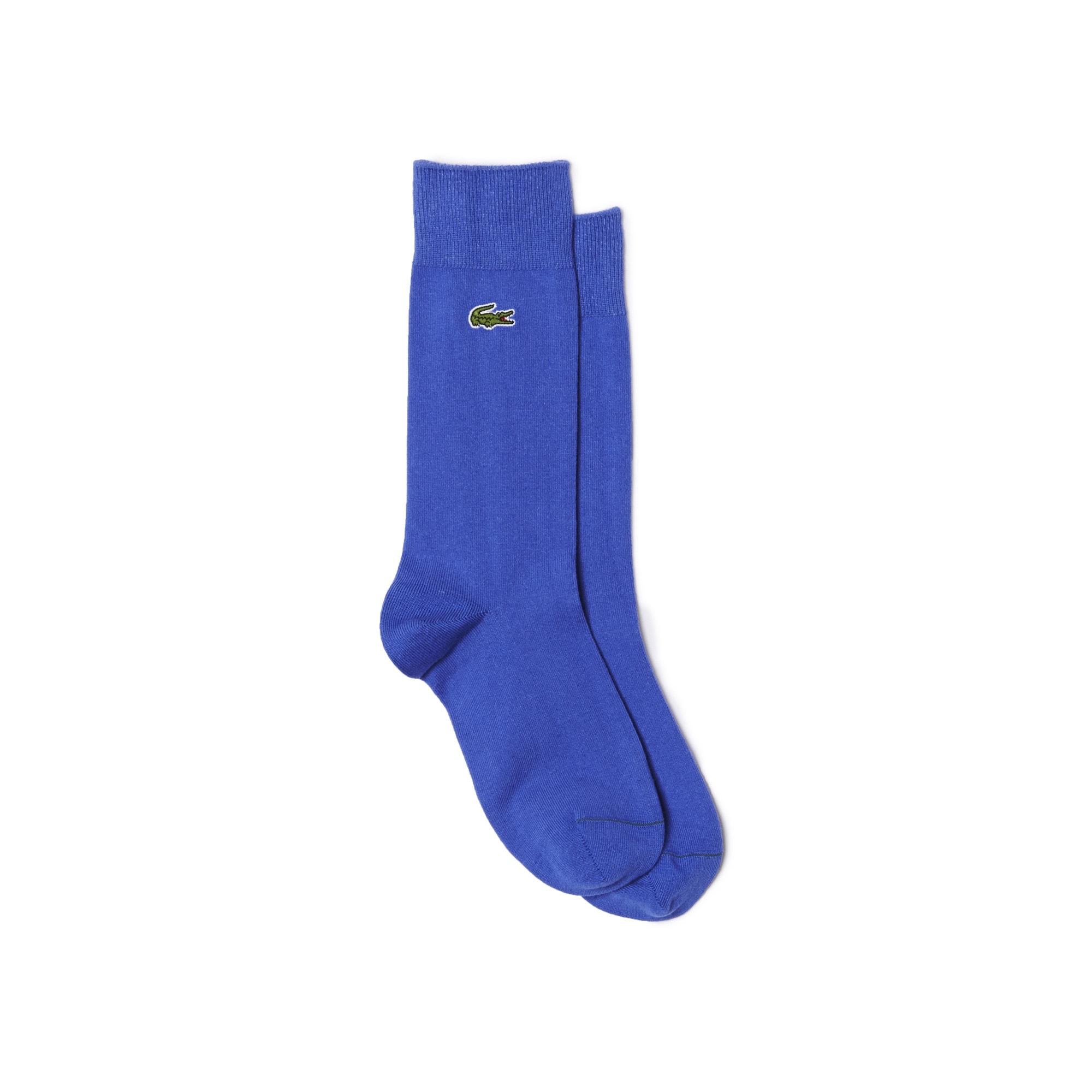 Socken aus einfarbigem Jersey