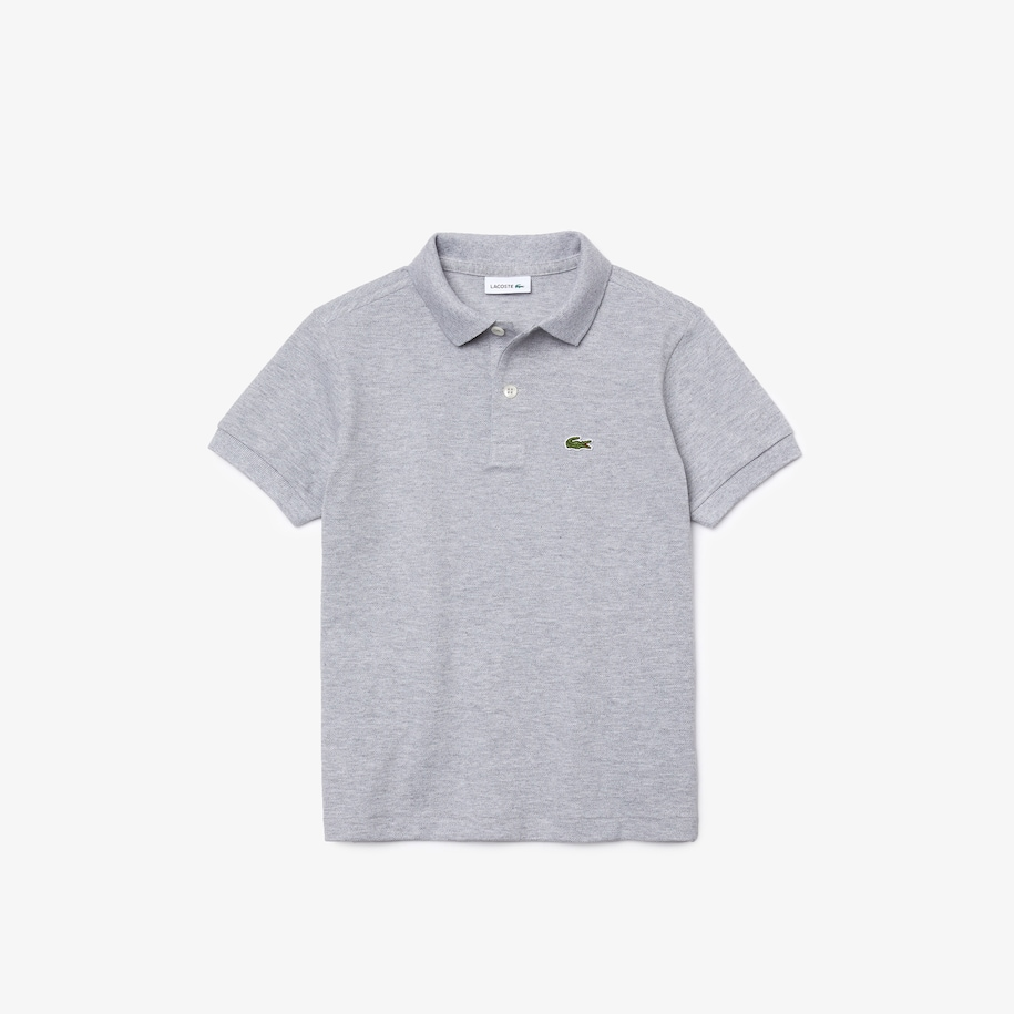 Regular Fit Lacoste-Kinder-Polo aus Petit Piqué