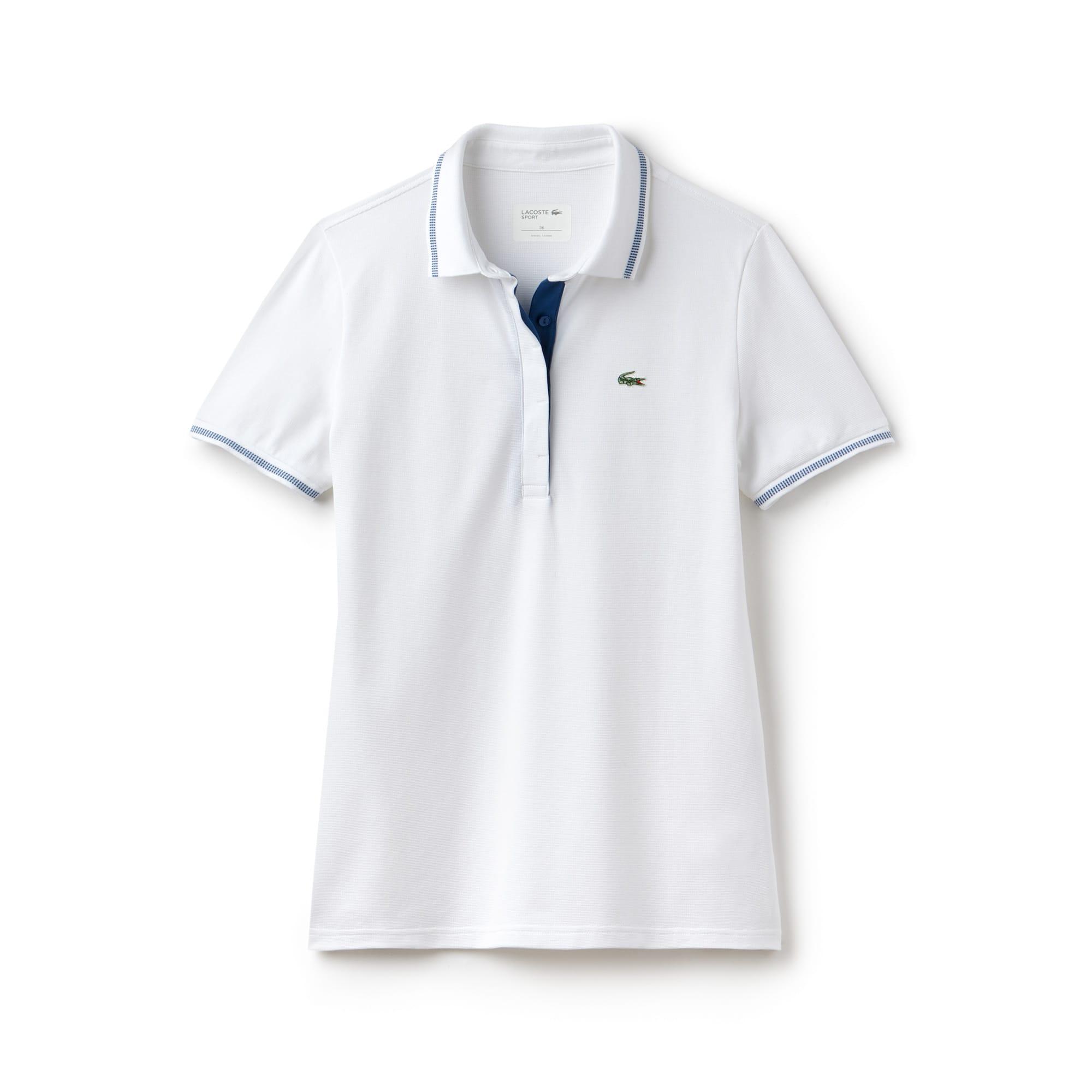 Damen LACOSTE SPORT leichtes Stretch-Golf-Poloshirt