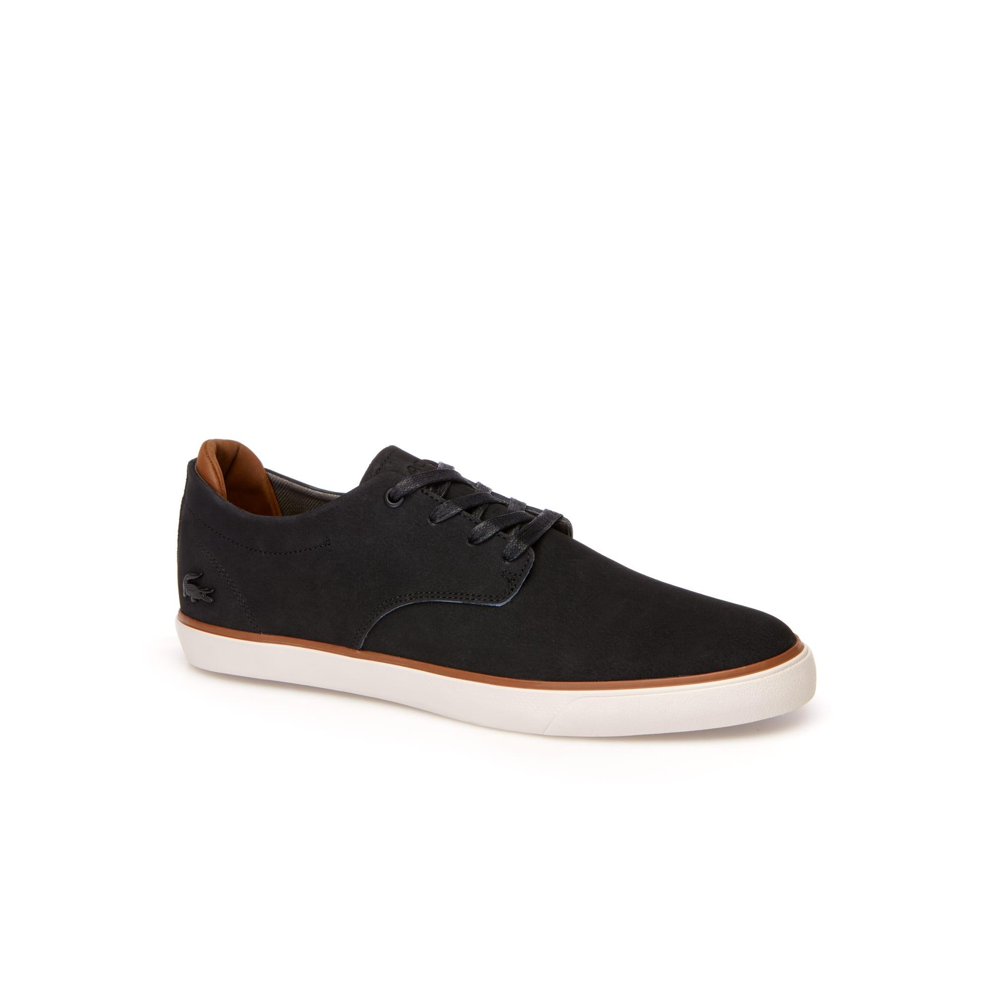 Herren-Sneakers ESPARRE aus Leder und Veloursleder