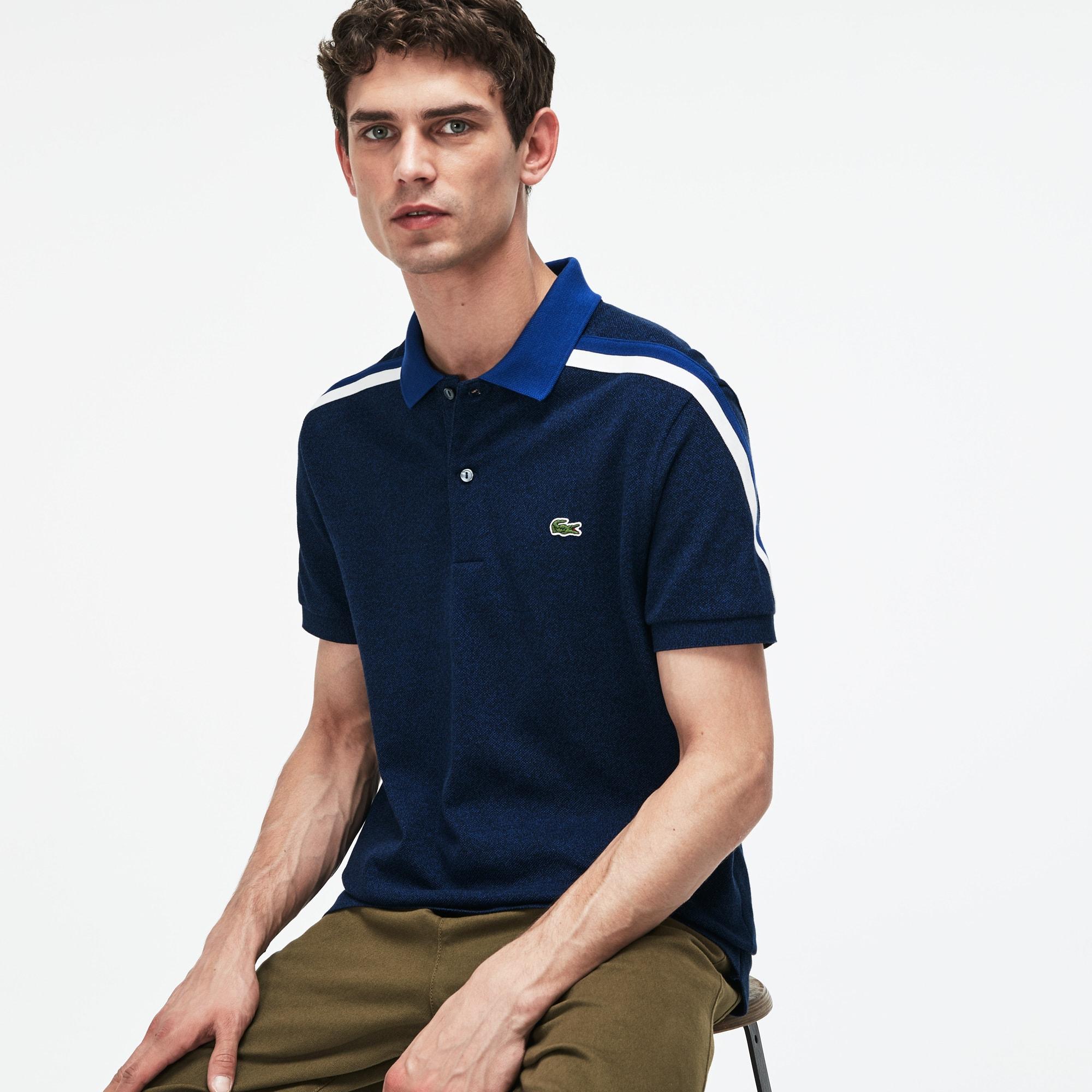 LACOSTE Regular Fit Herren-Poloshirt aus Baumwoll-Piqué