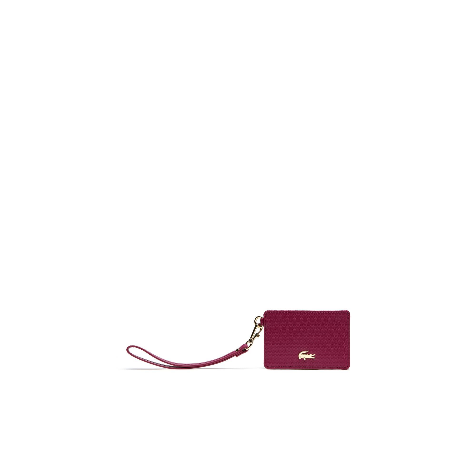 Damen-Leder-Kreditkartenetui CHANTACO