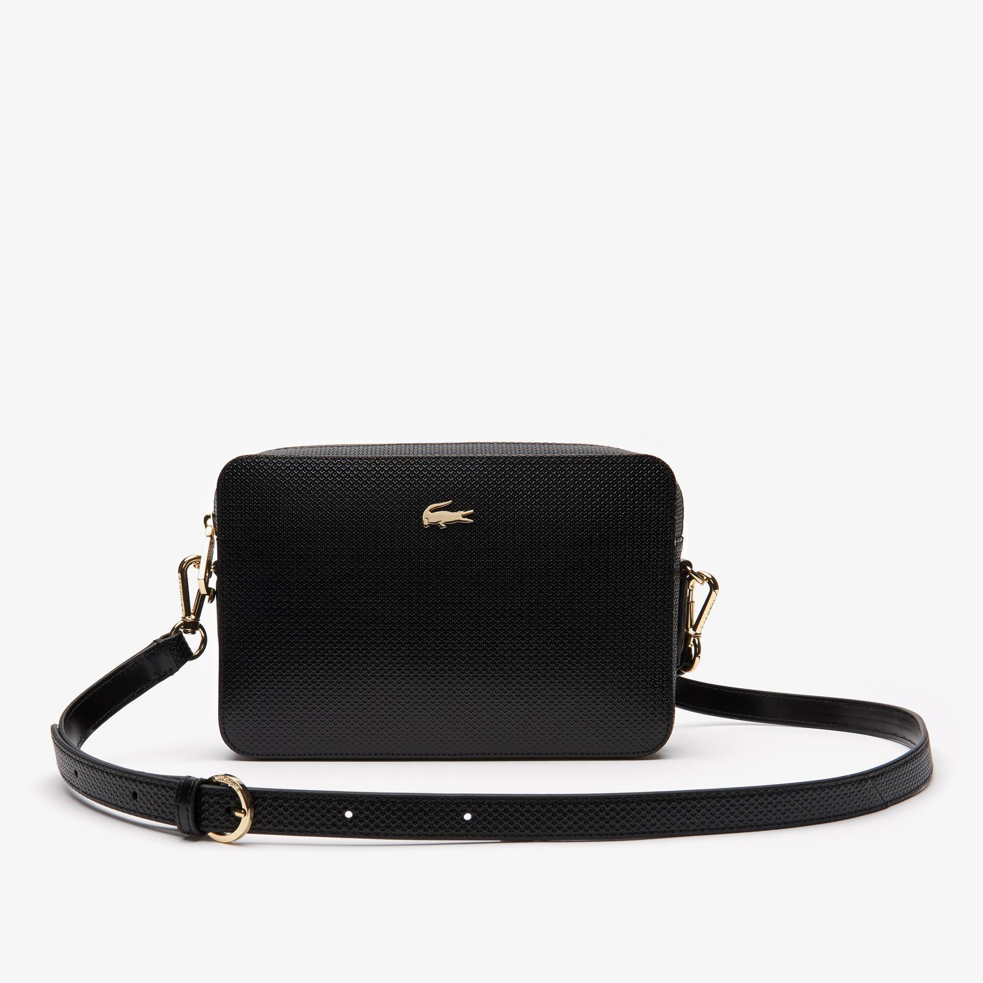 günstig kaufen c2e8a 3a23e Damen CHANTACO Tasche aus Piqué-Leder | LACOSTE