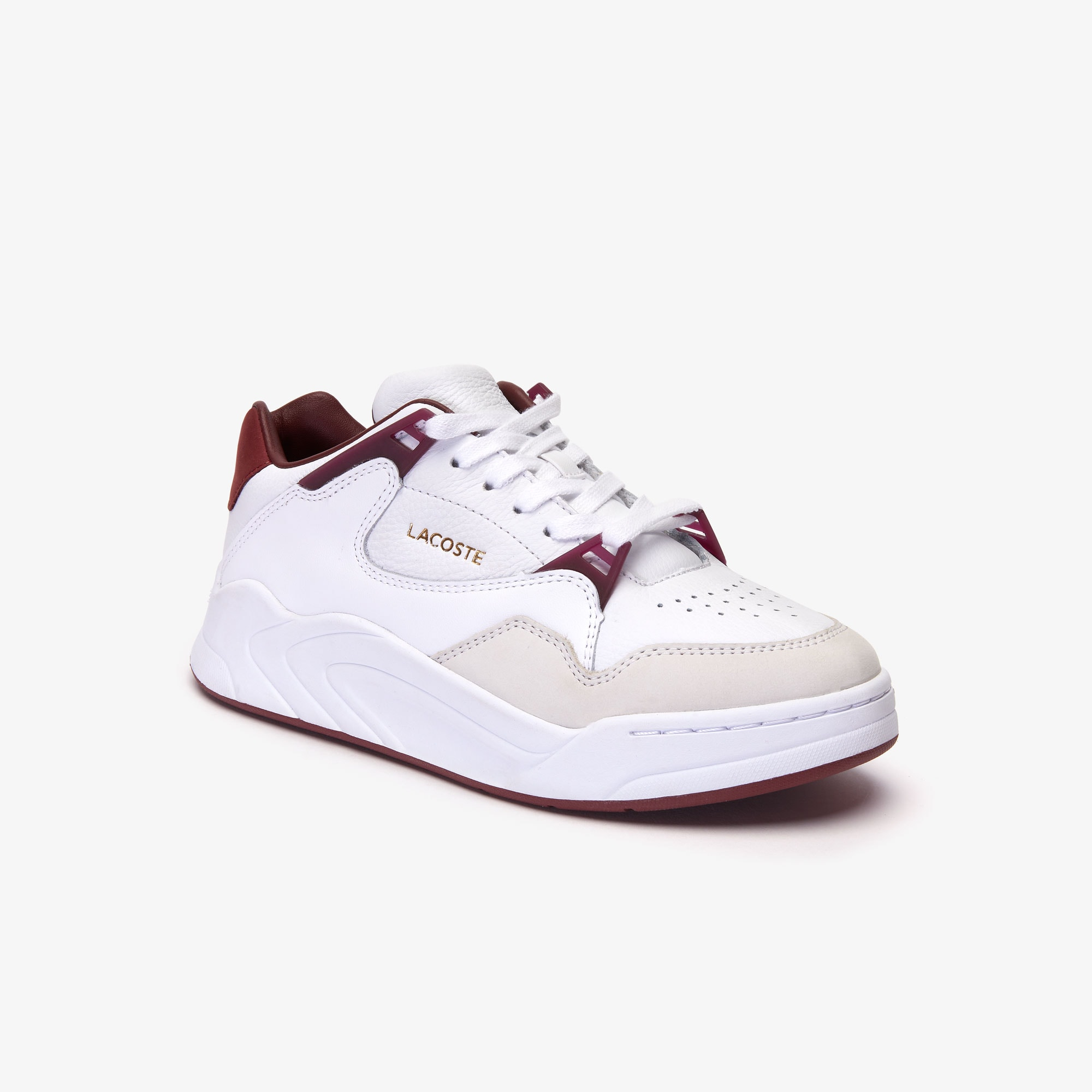 Damen-Sneakers COURT SLAM aus Leder