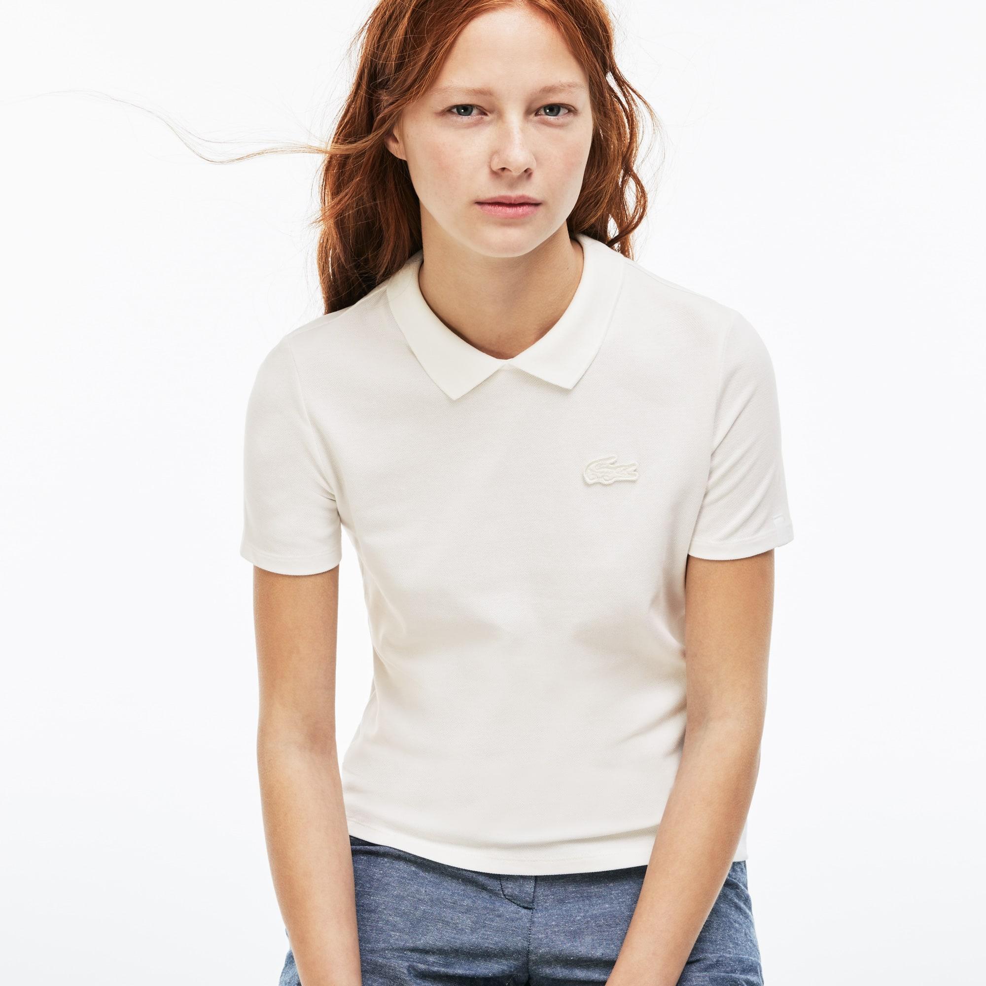Damen-Poloshirt mit Schlüssellochausschnitt LACOSTE L!VE