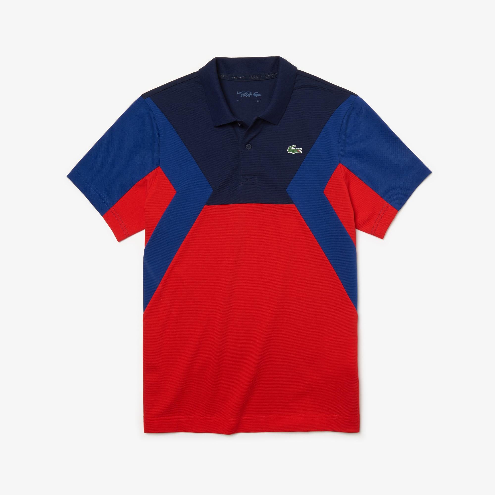 check out fb9de ed9a0 Herren LACOSTE SPORT Ultra-Light-Poloshirt mit Colourblocks ...