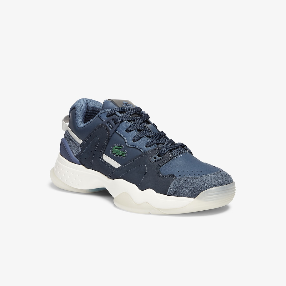 Damen-Sneakers T-POINT aus Nubukleder