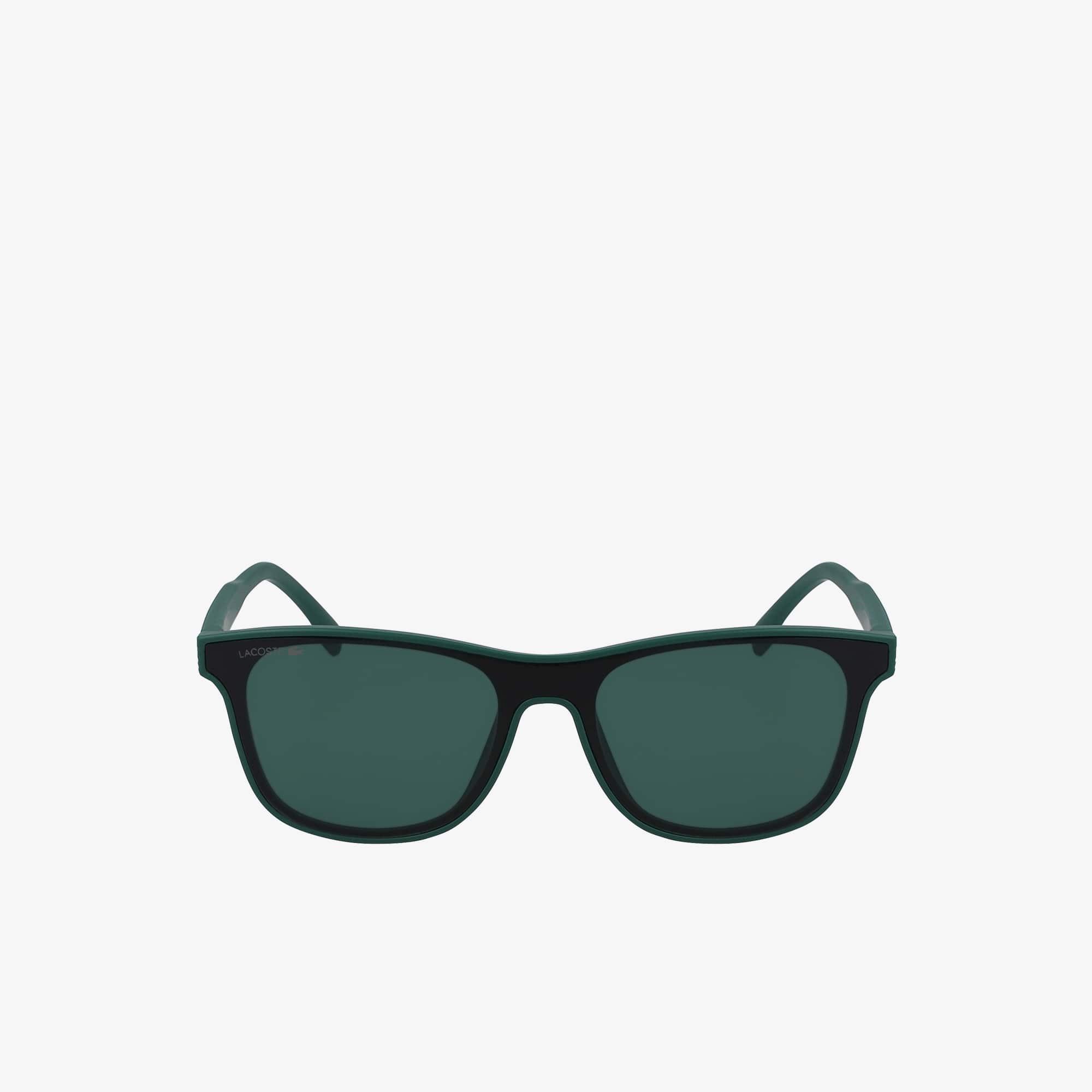 L.12.12 Sonnenbrille mit Kunststoffrahmen und Abschirmung