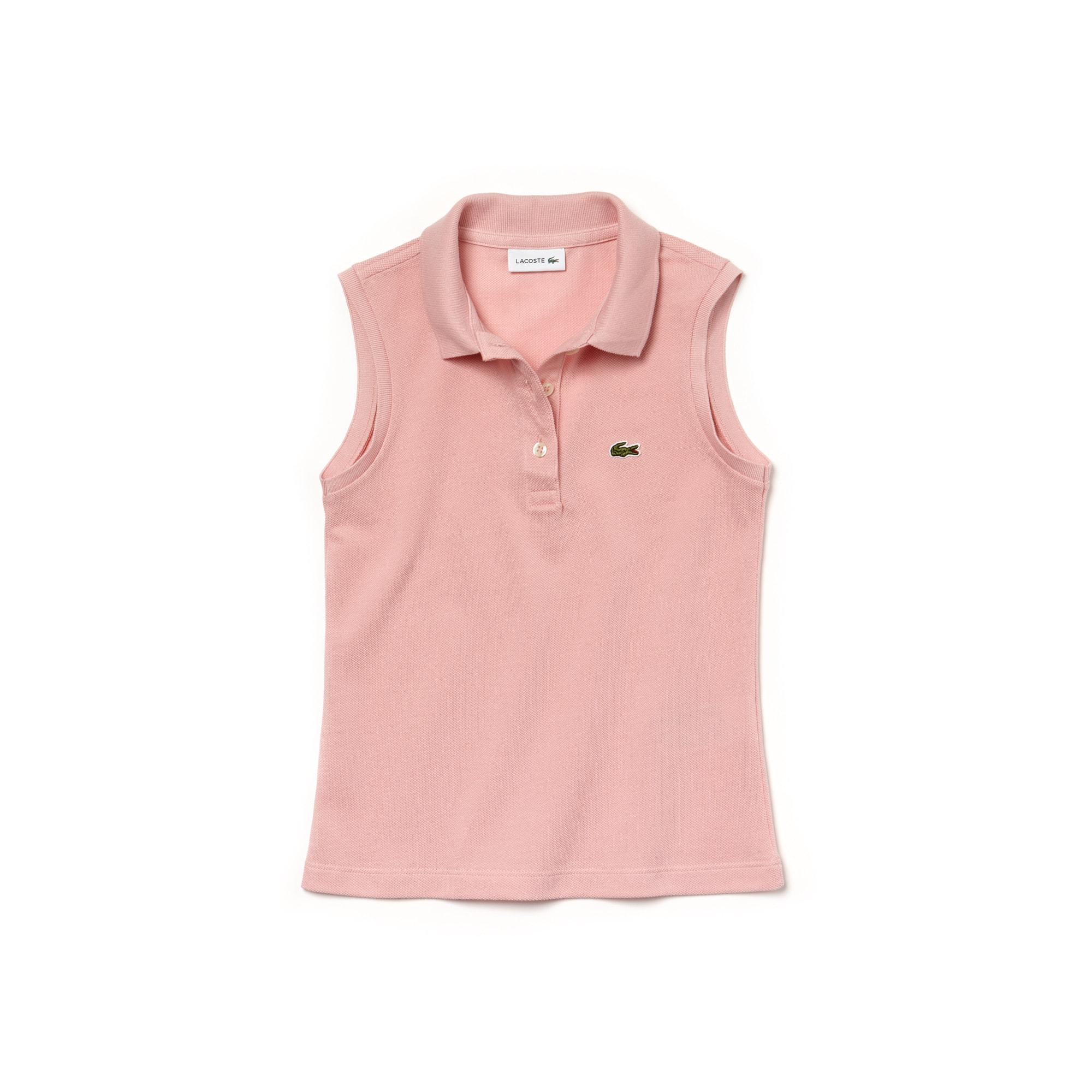Mädchen-Poloshirt aus Piqué