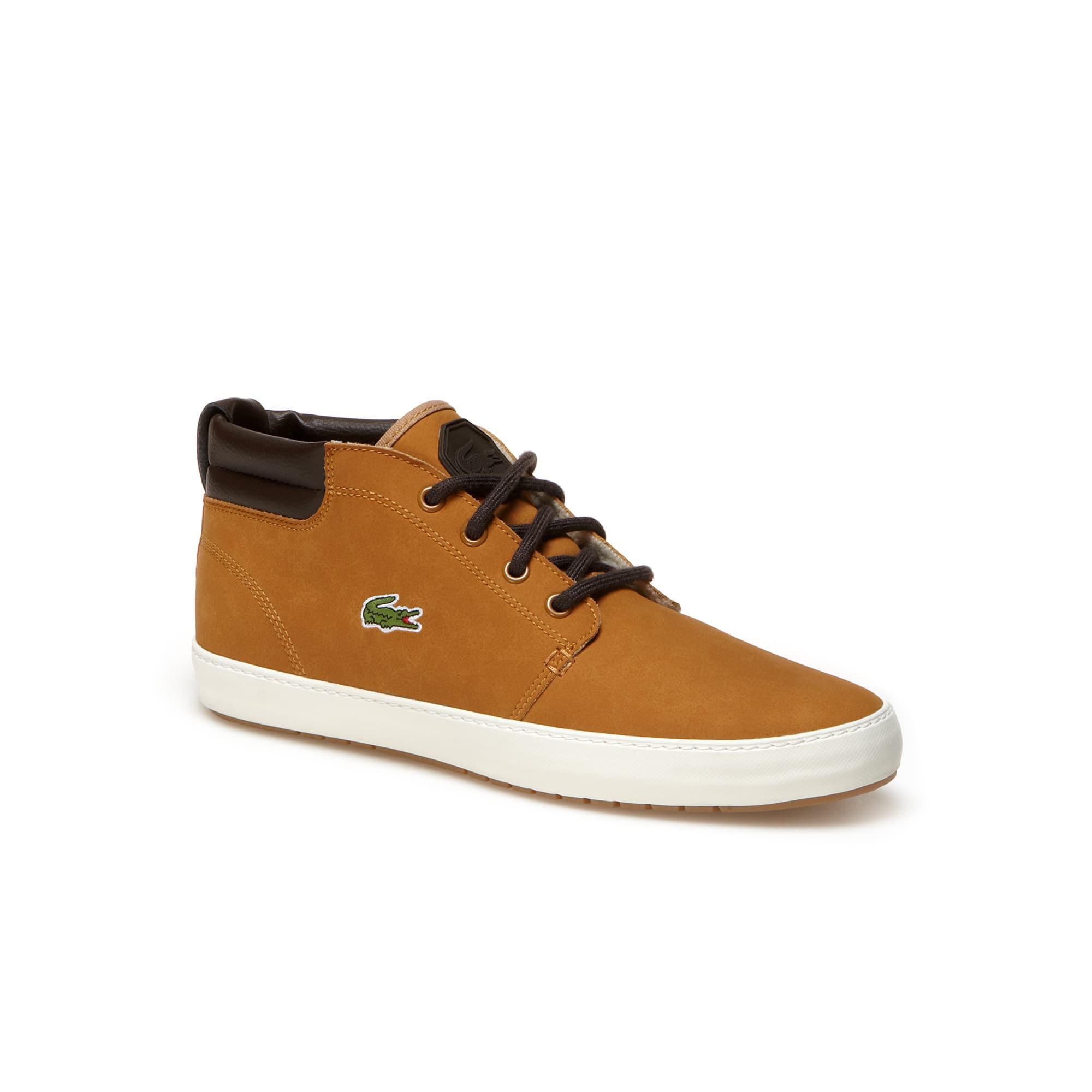 Halbhohe Herren-Sneakers AMPTHILL TERRA aus Leder