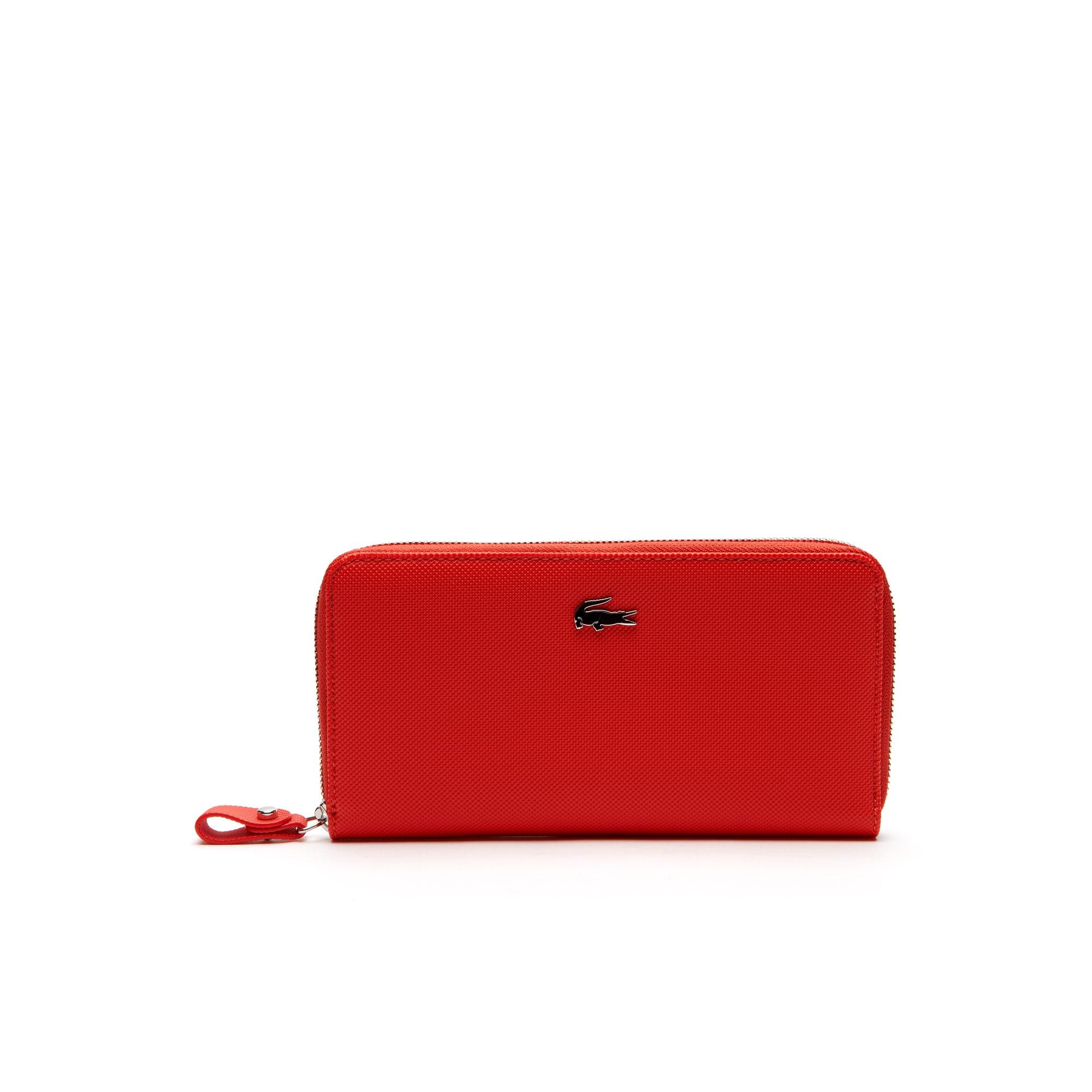 Daily Classic Reißverschluss-Brieftasche im großen Format