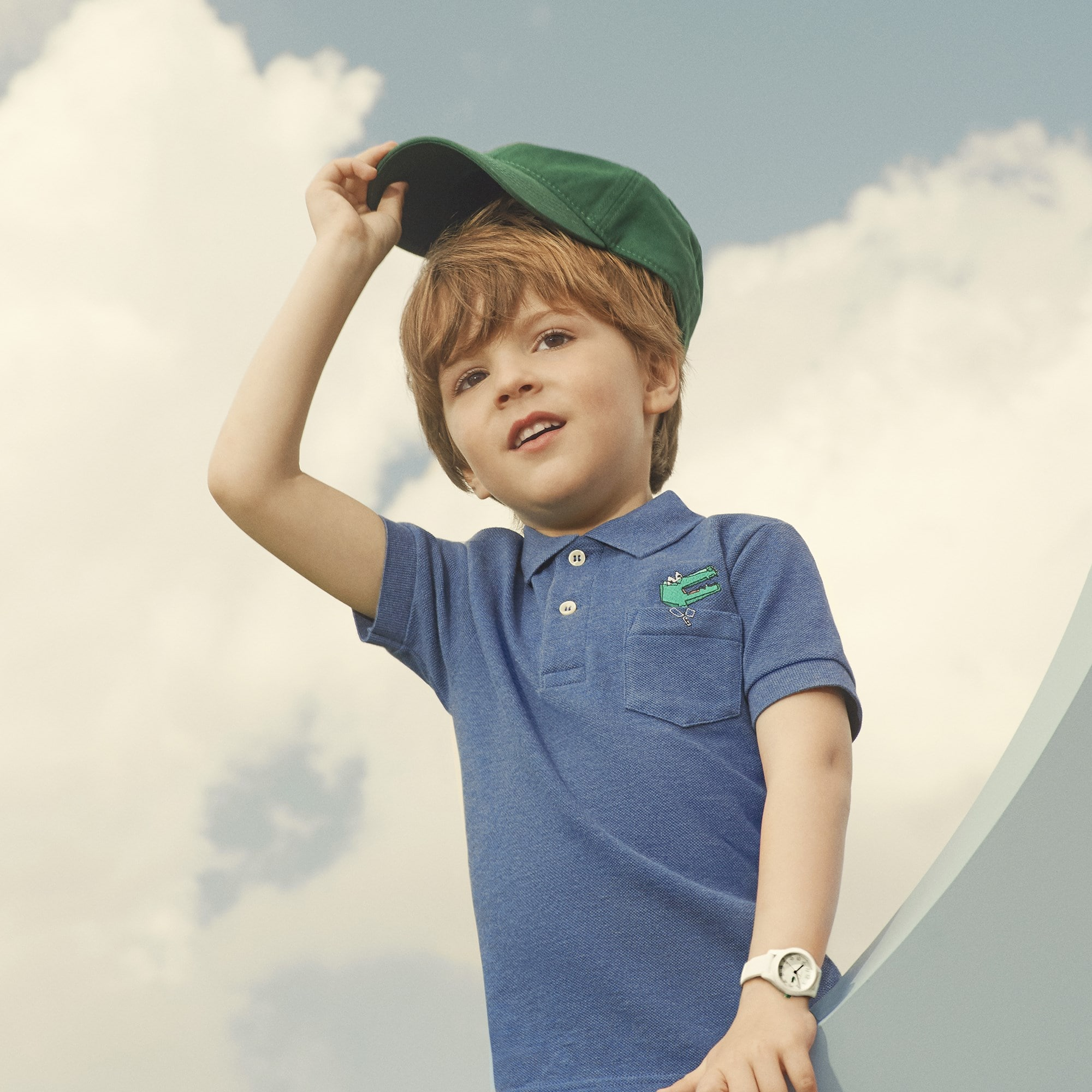 LACOSTE Jungen-Poloshirt aus Piqué