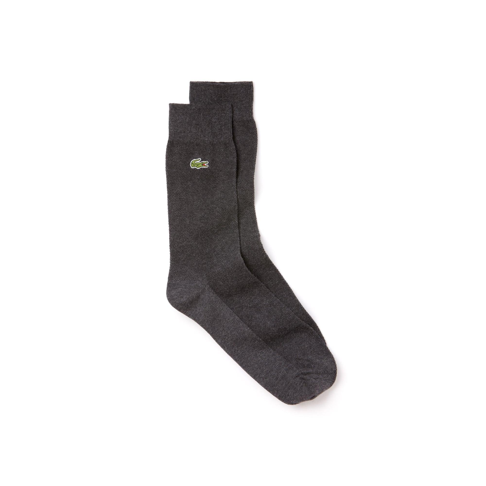 Socken aus dehnbarem Baumwolljersey