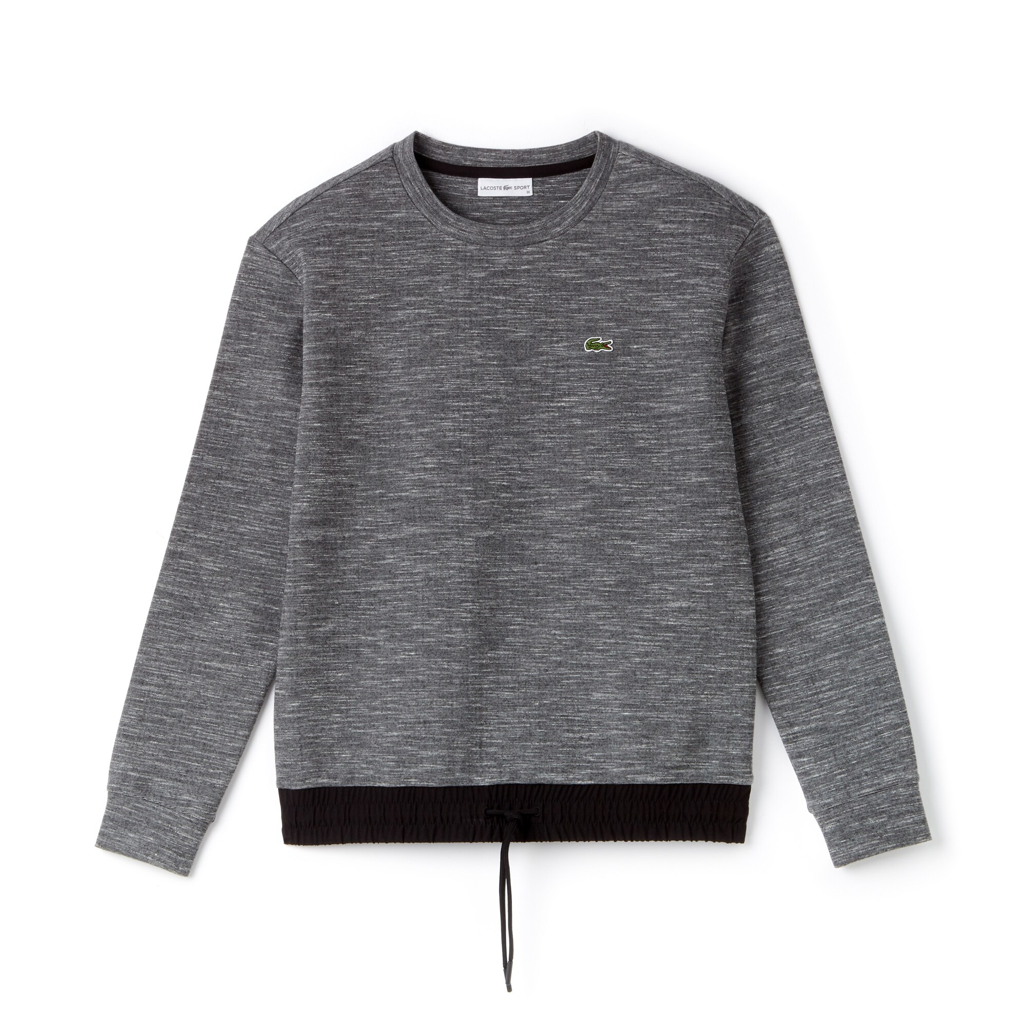 Damen LACOSTE SPORT Fleece und Taft Tennis-Sweatshirt