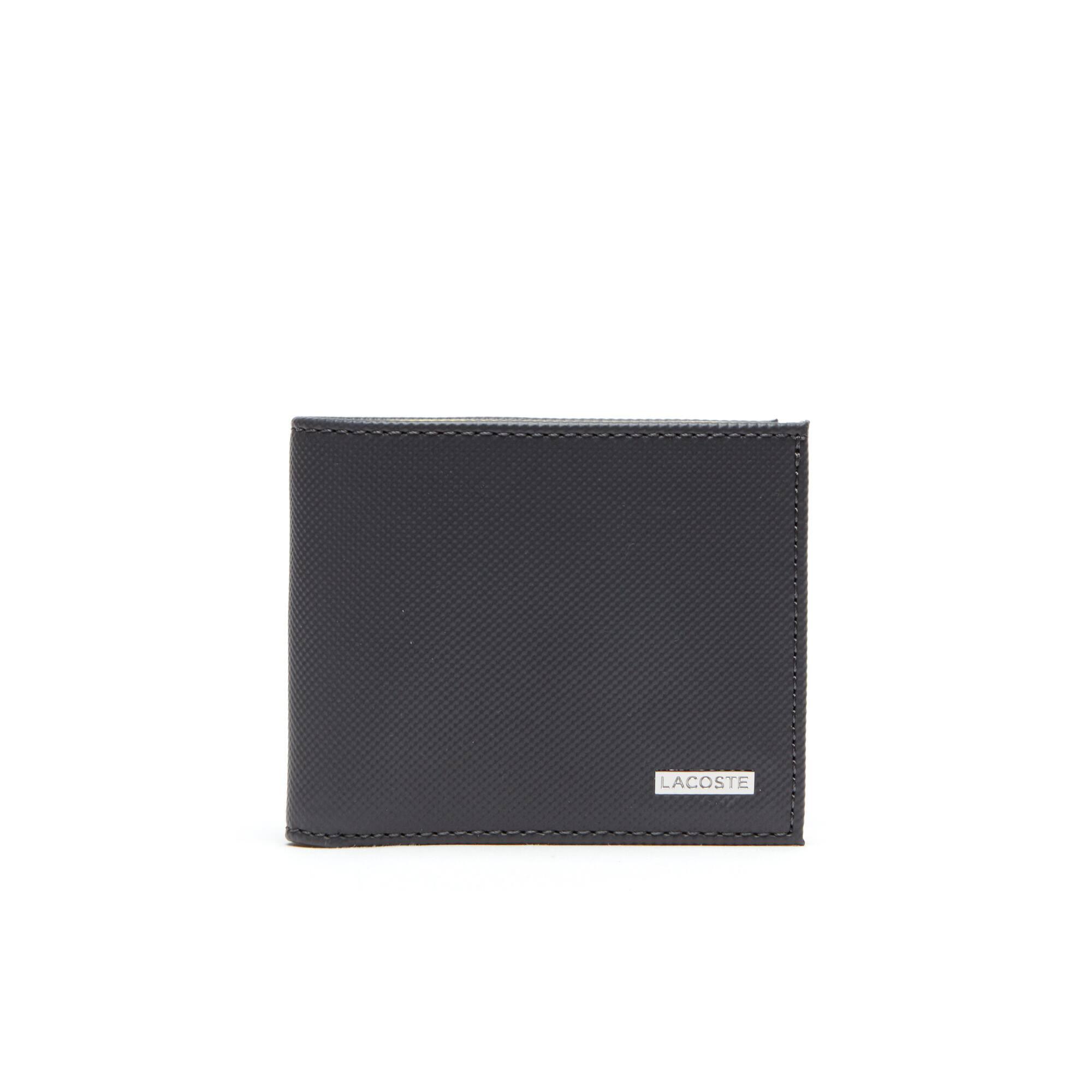 Herren-Brieftasche aus Leder mit Ausweisfach im Kleinformat EDWARD