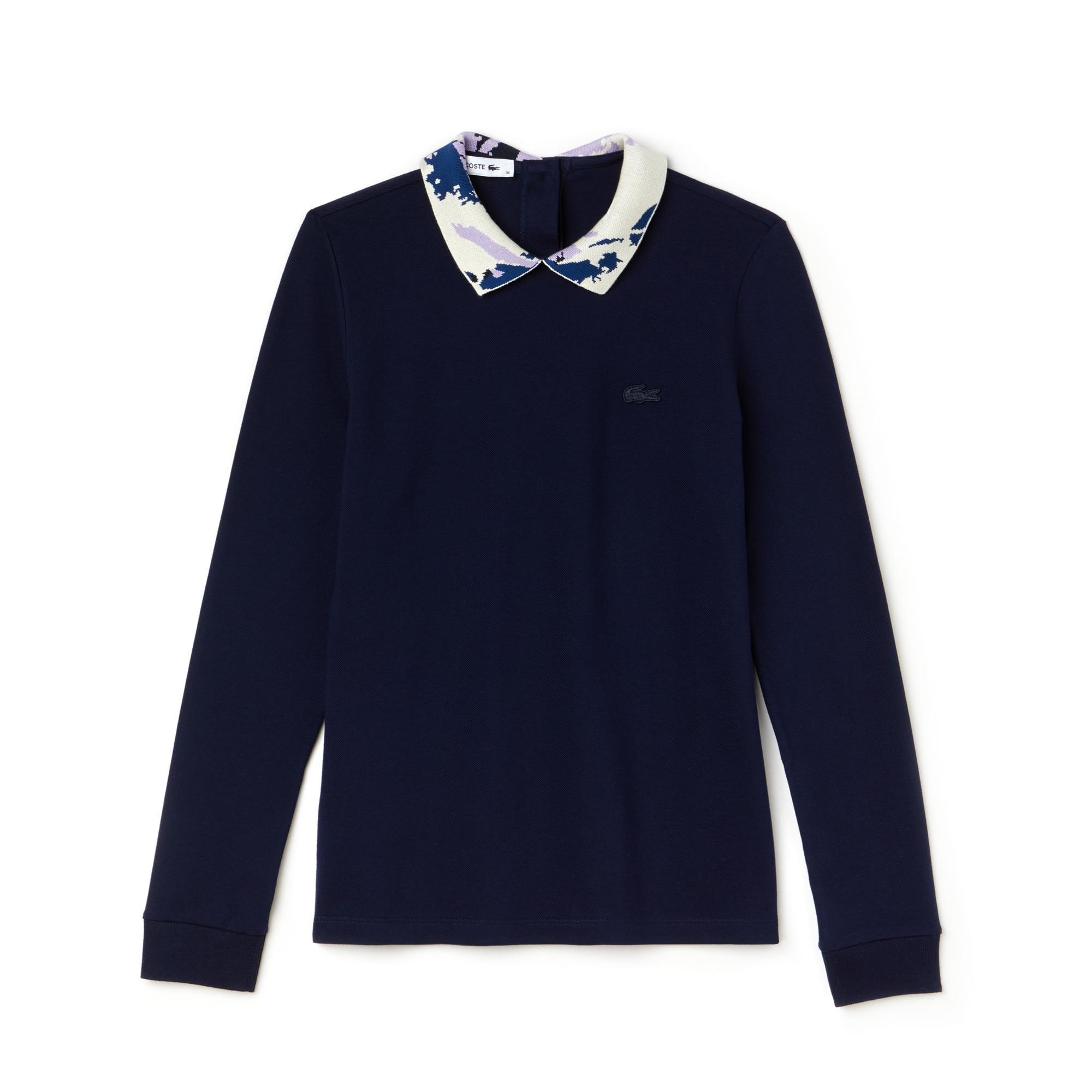 Damen LACOSTE Poloshirt aus Mini-Piqué mit Stretch