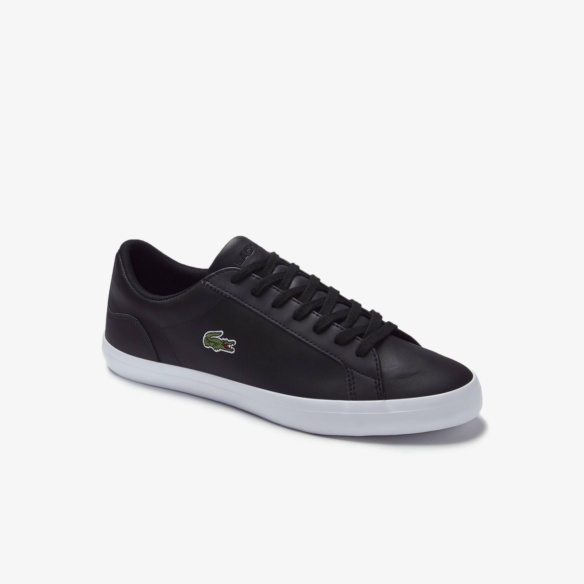Herren-Sneakers LEROND aus einfarbigem Leder