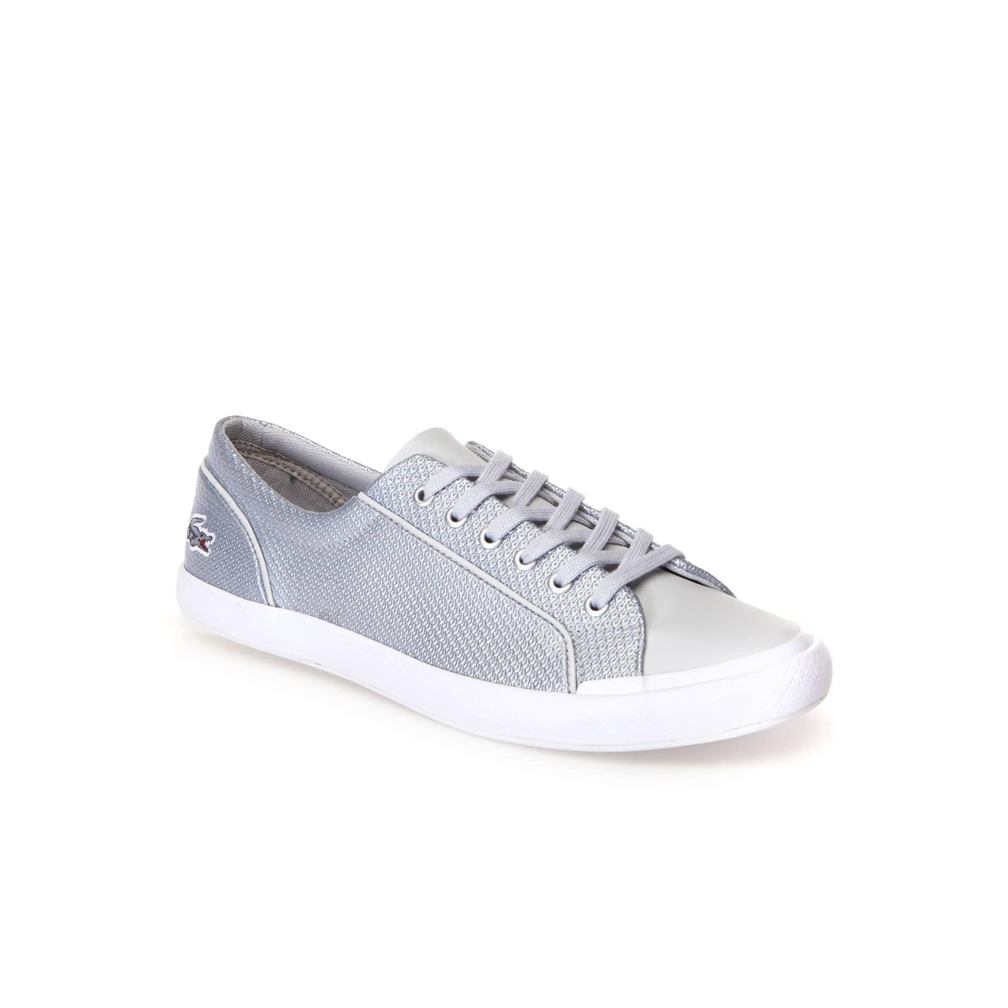 Damen CHANTACO Sneakers LANCELLE SILVER aus Leder