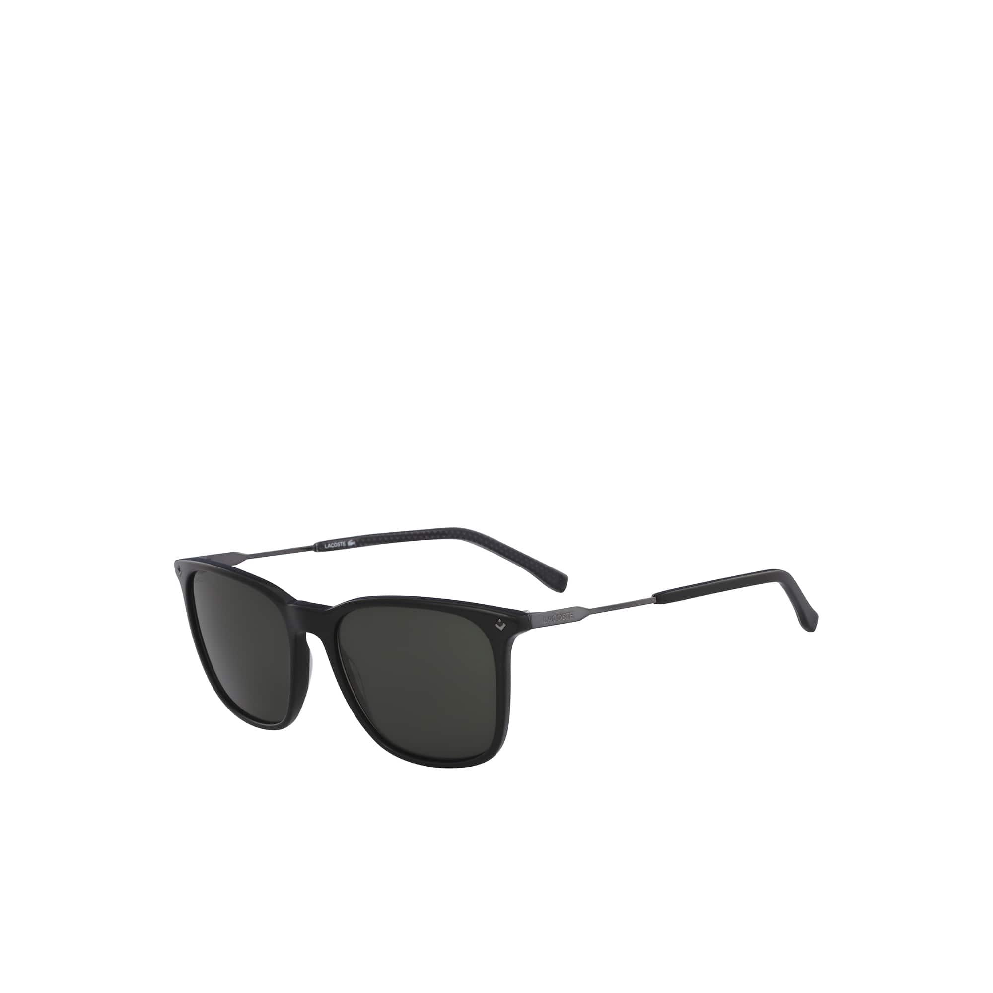 Herren Petit Piqué Sonnenbrille mit Acetat-/Metallrahmen