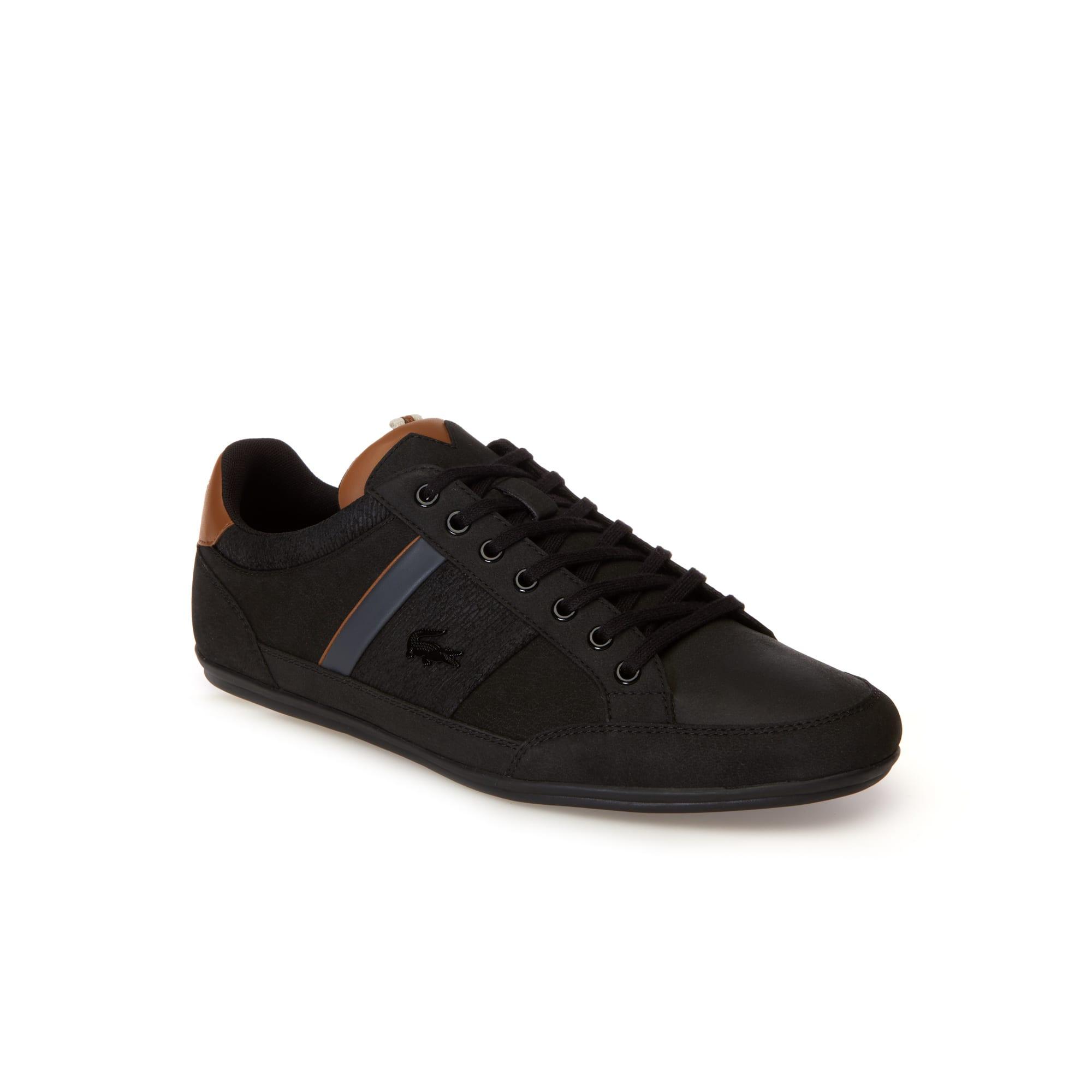Herren-Sneakers CHAYMON aus Nappaleder und Veloursleder