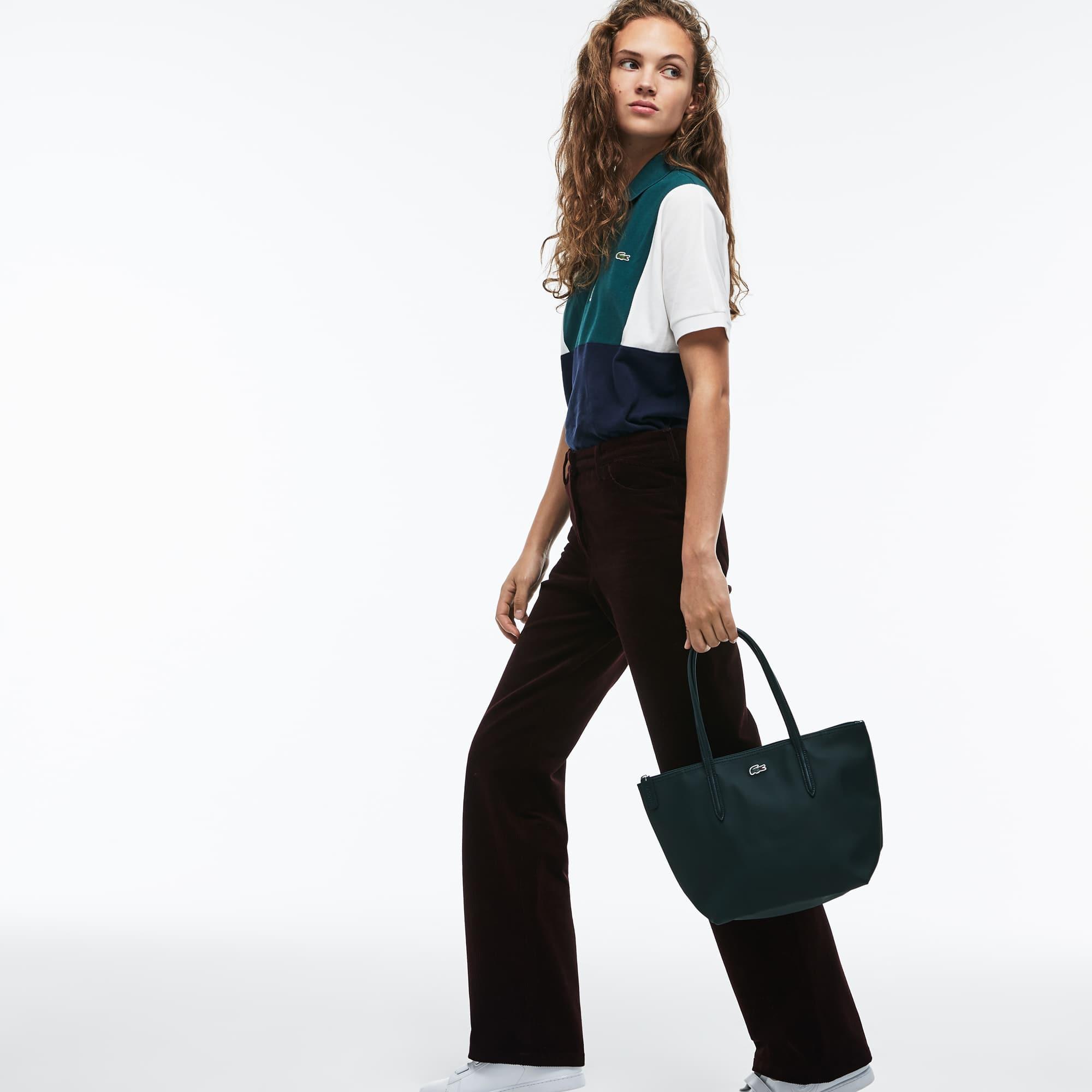 Damen L.12.12 Concept Kleine Tote Bag mit Reißverschluss