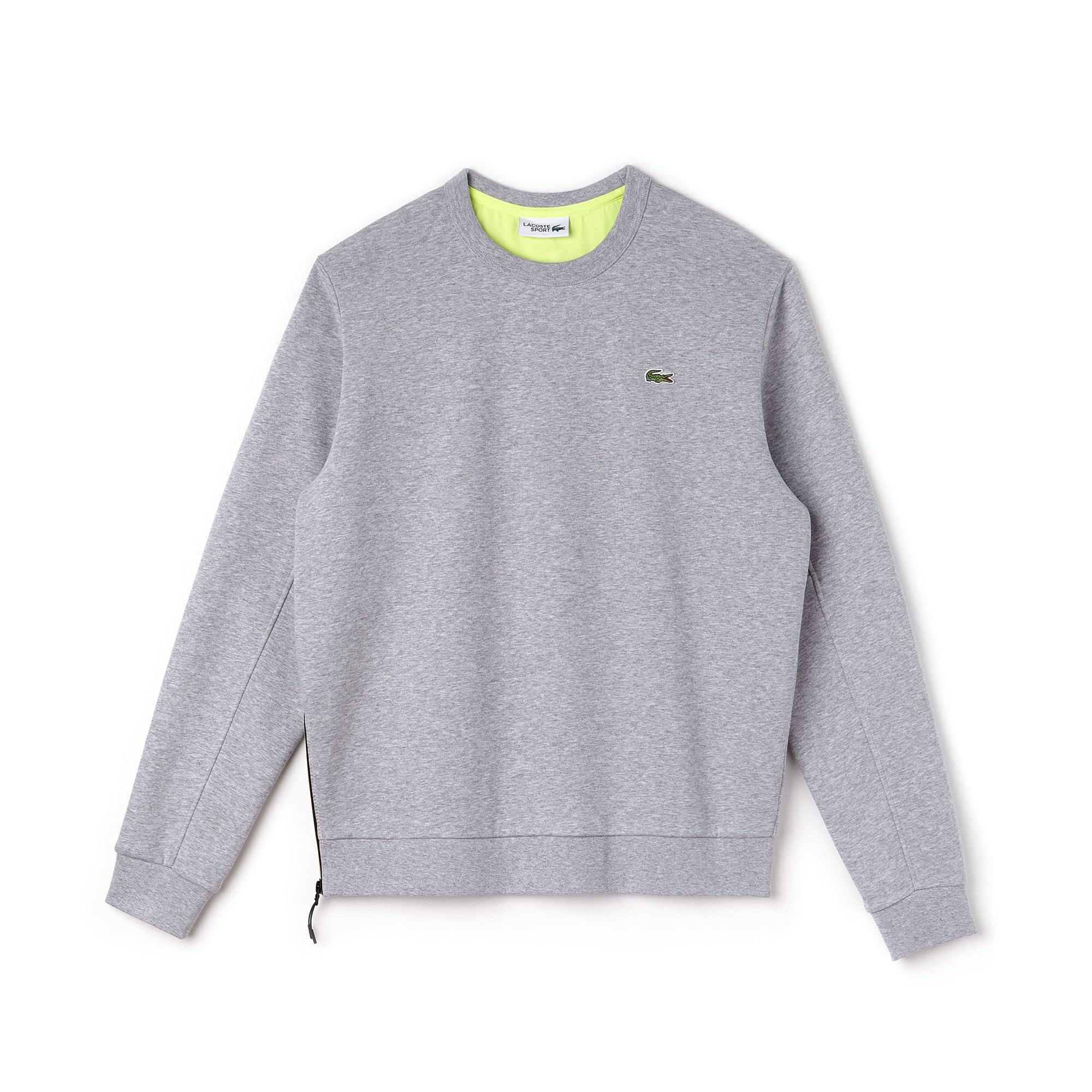 Herren LACOSTE SPORT Tennis Sweatshirt aus Fleece