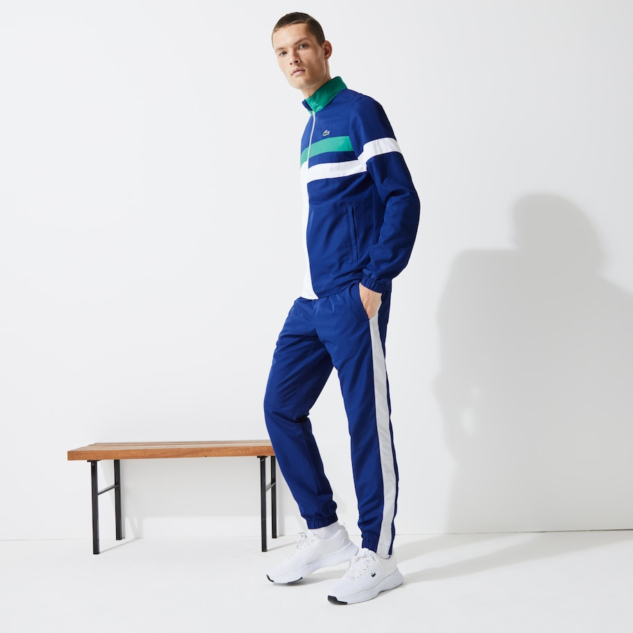 Herren LACOSTE SPORT Trainingsanzug mit Colourblock