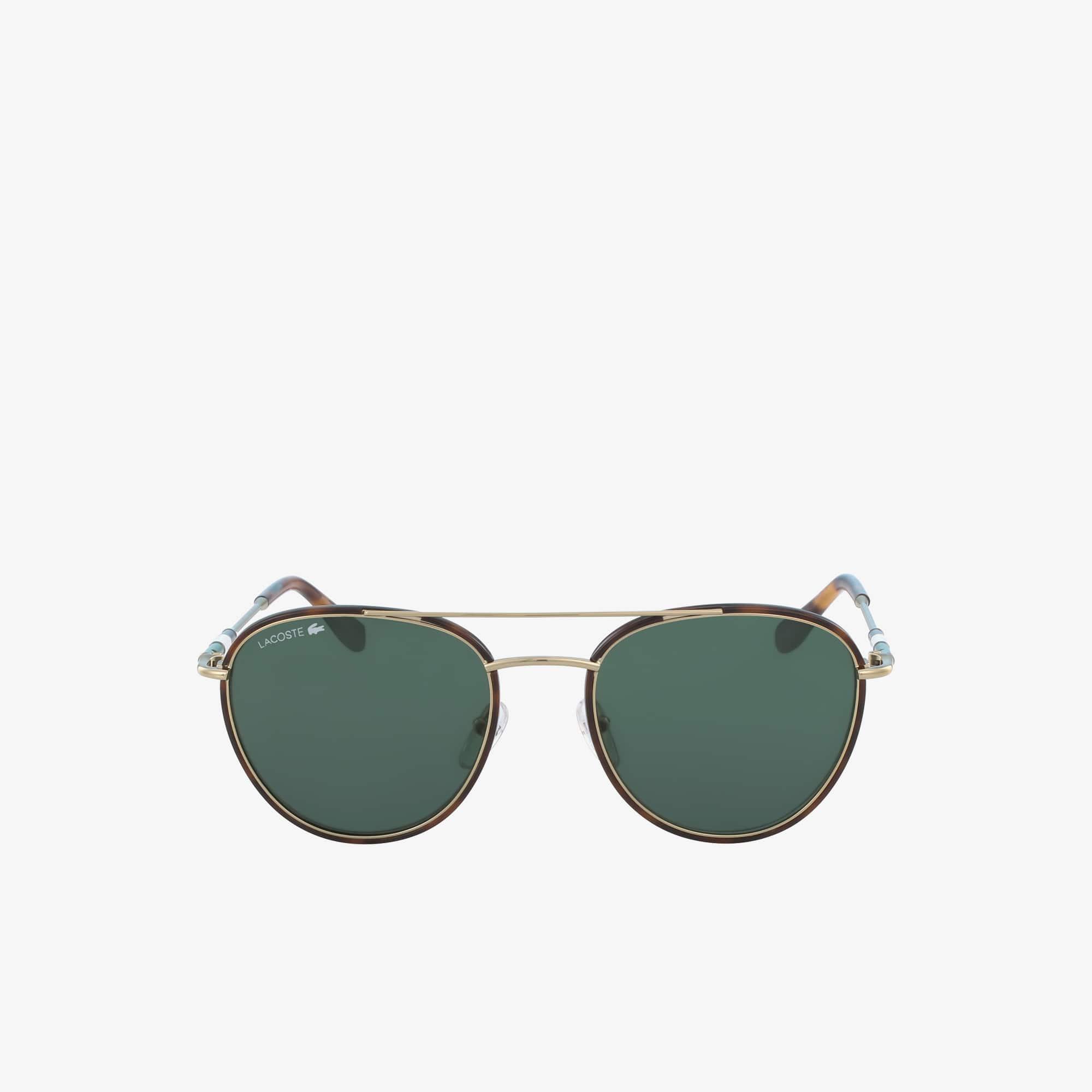 Unisex Color Block - Heritage Sonnenbrille mit Metallrahmen