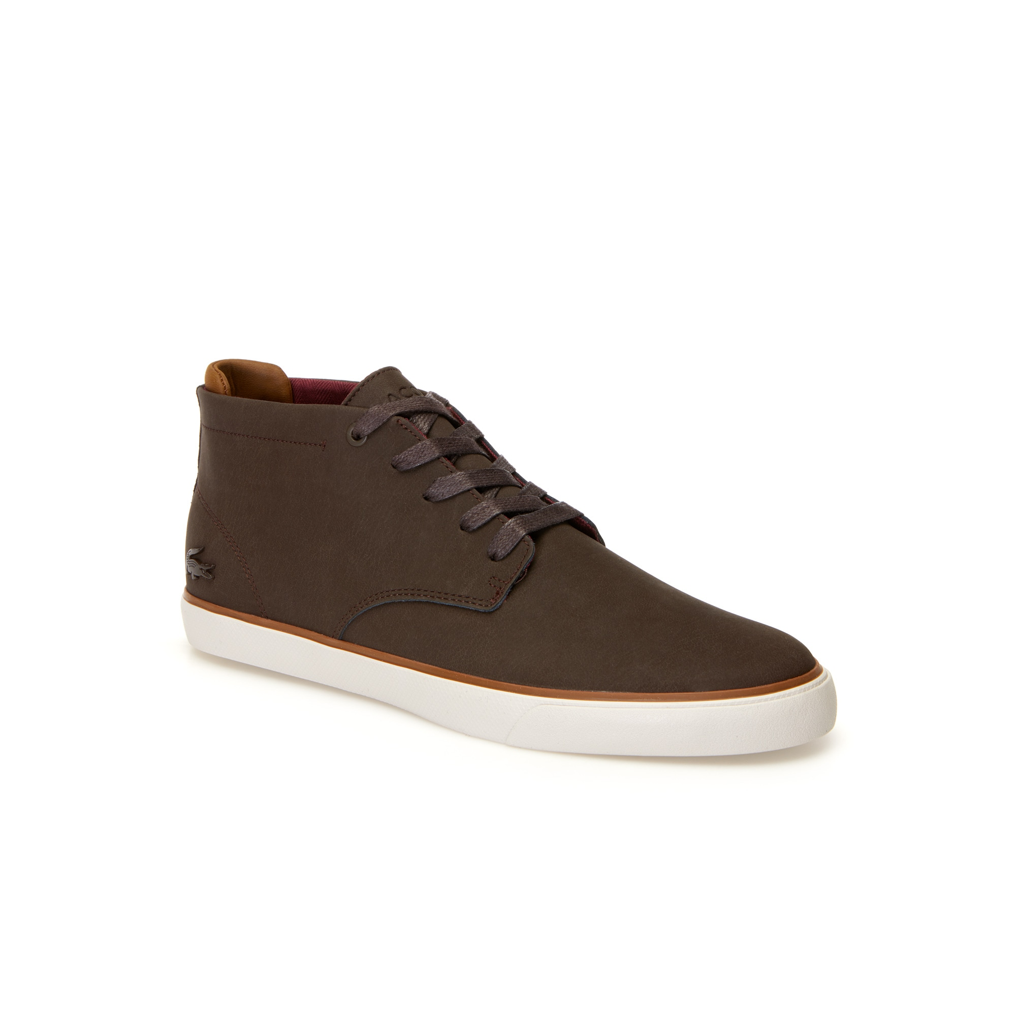 Herren-Sneakers ESPARRE CHUKKA aus Leder und Veloursleder