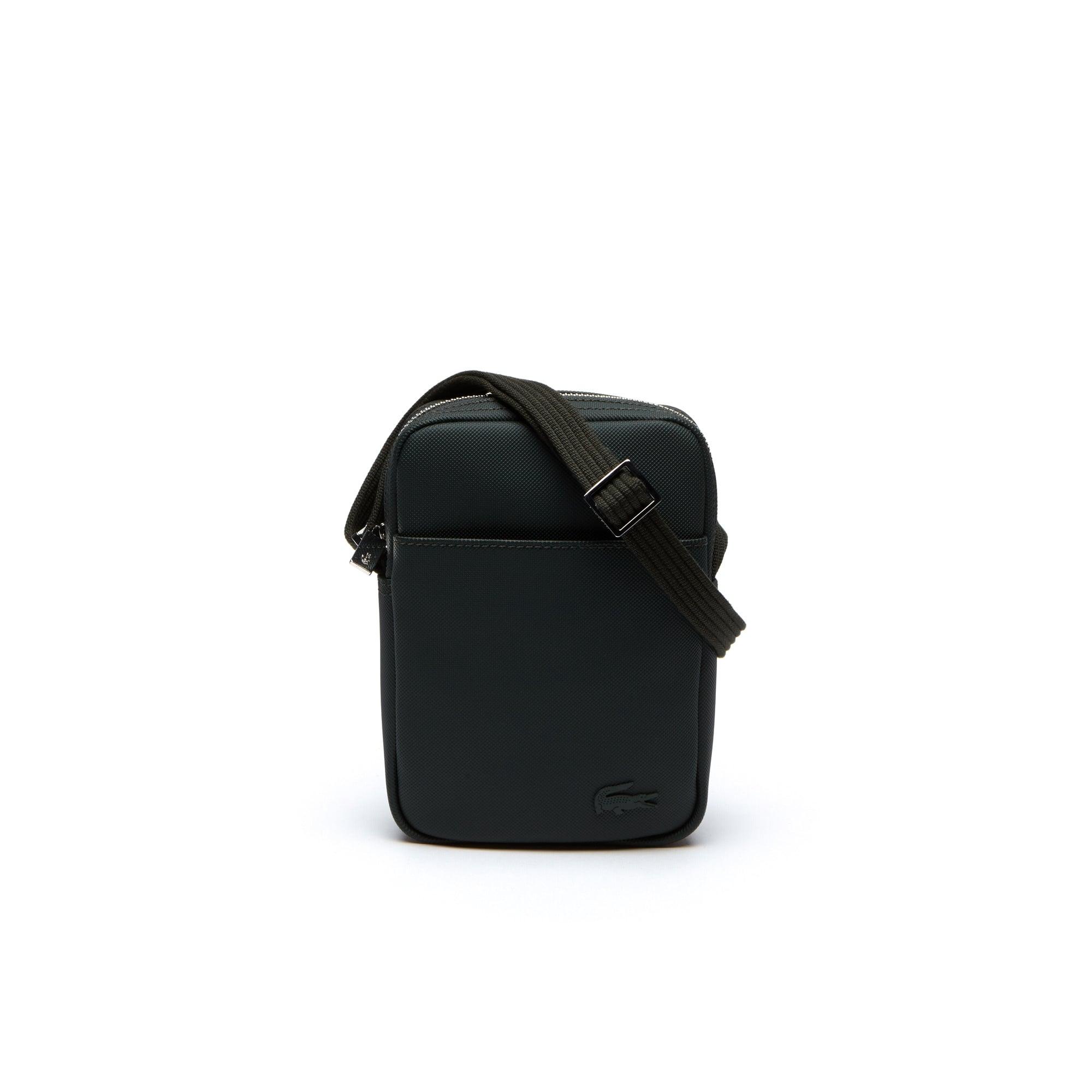Vertikale Herren-Tasche CLASSIC aus Petit Piqué