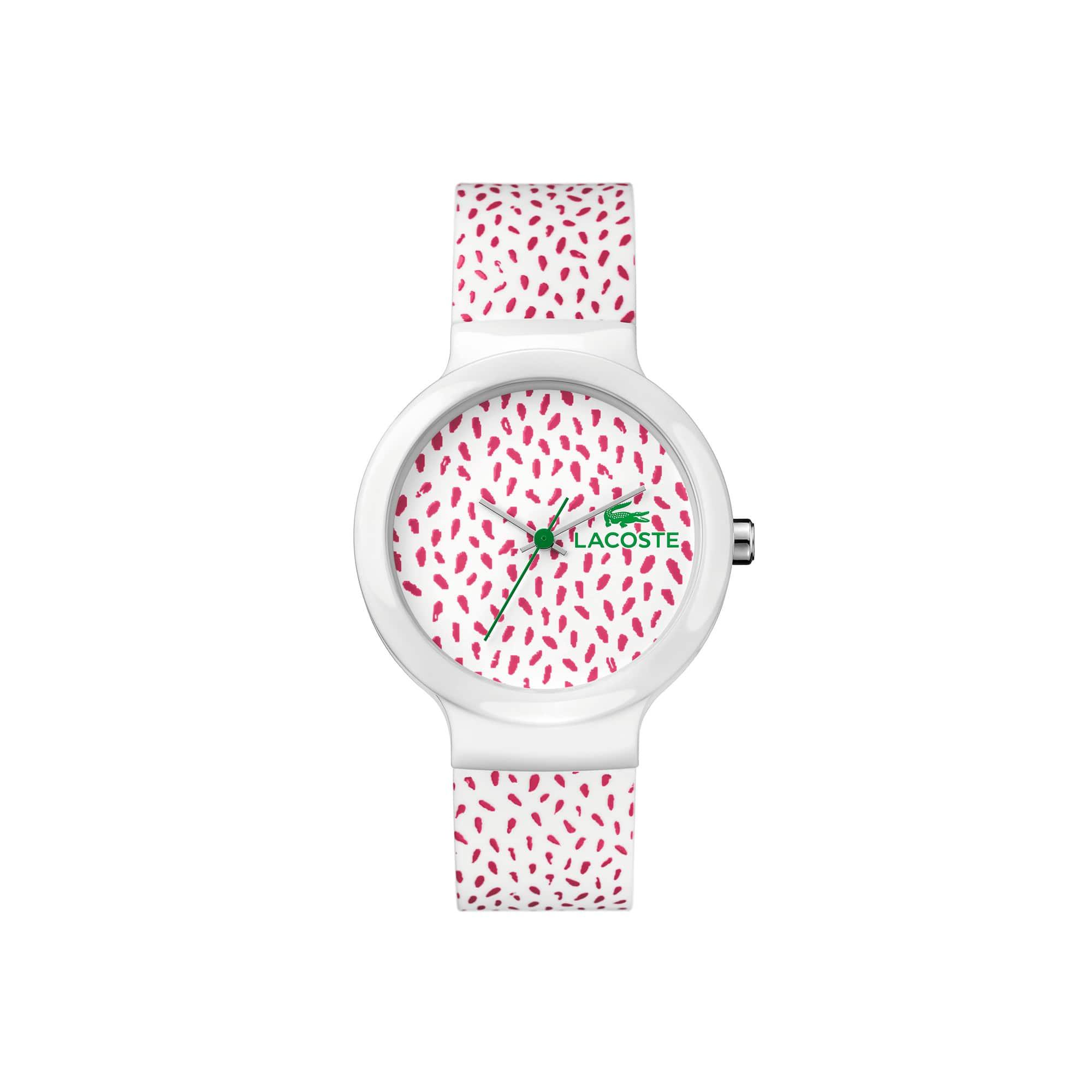 Uhr mit Silikonarmband Goa
