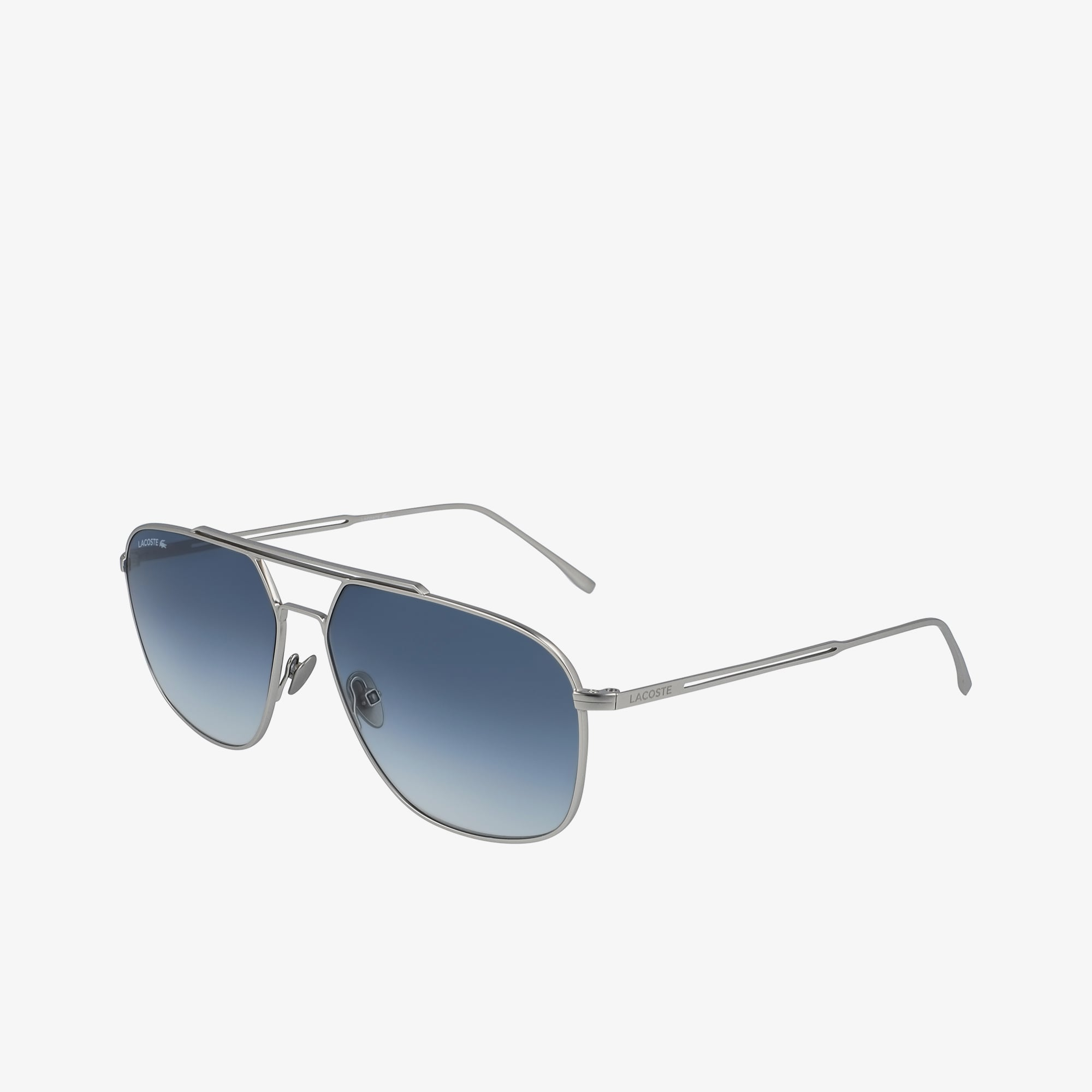 Modified Rectangle Metal Paris Collection Sunglasses