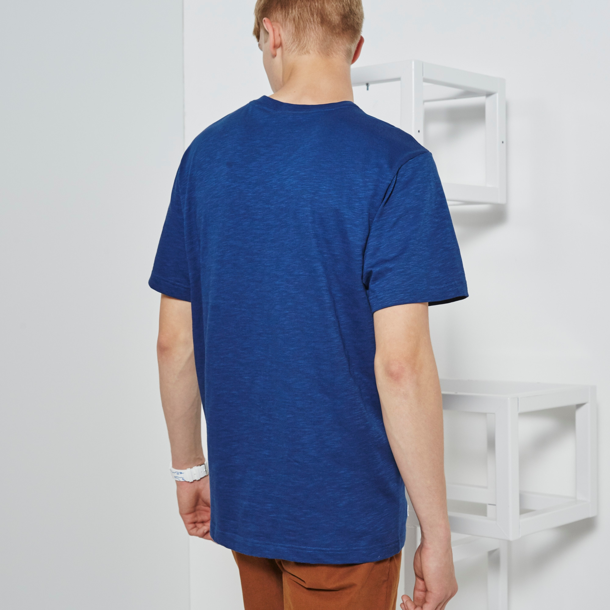 Lacoste Jersey T Crew With Shirt Neck Toujours In Live Cours Unisex 1xqawBPE0