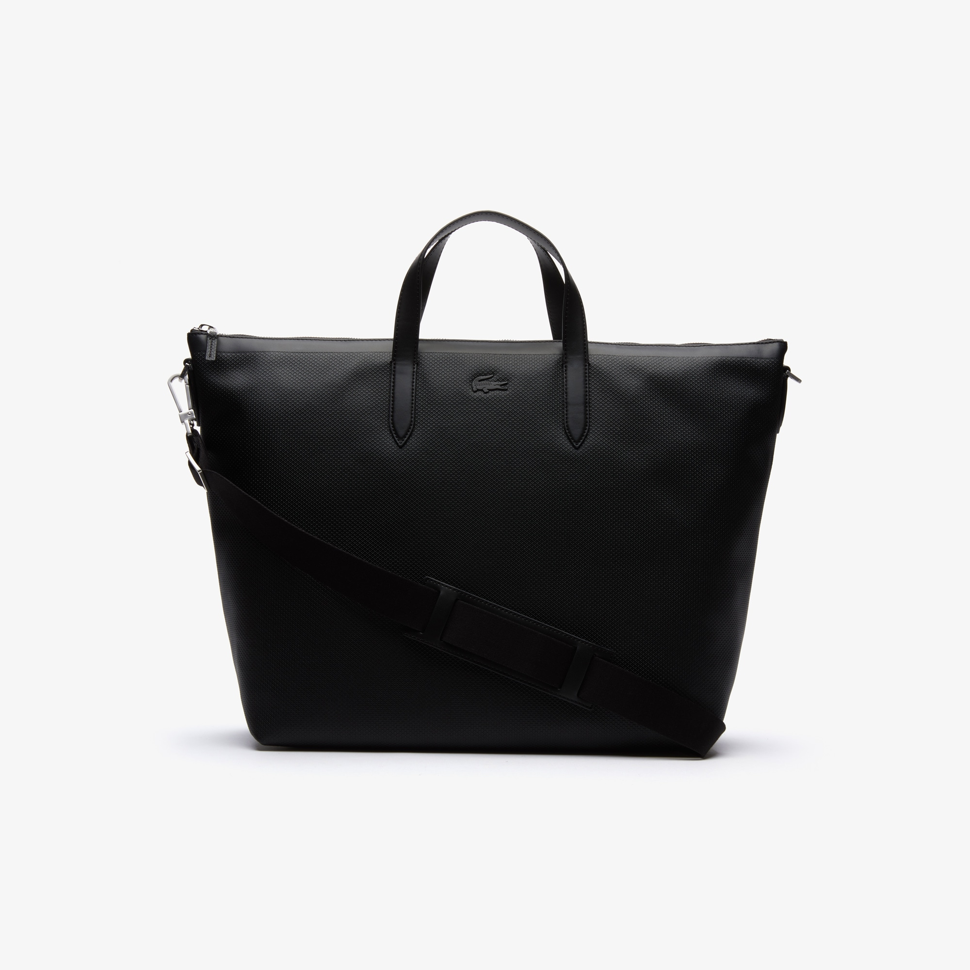 Men's Chantaco Soft Leather Zip Tote Bag