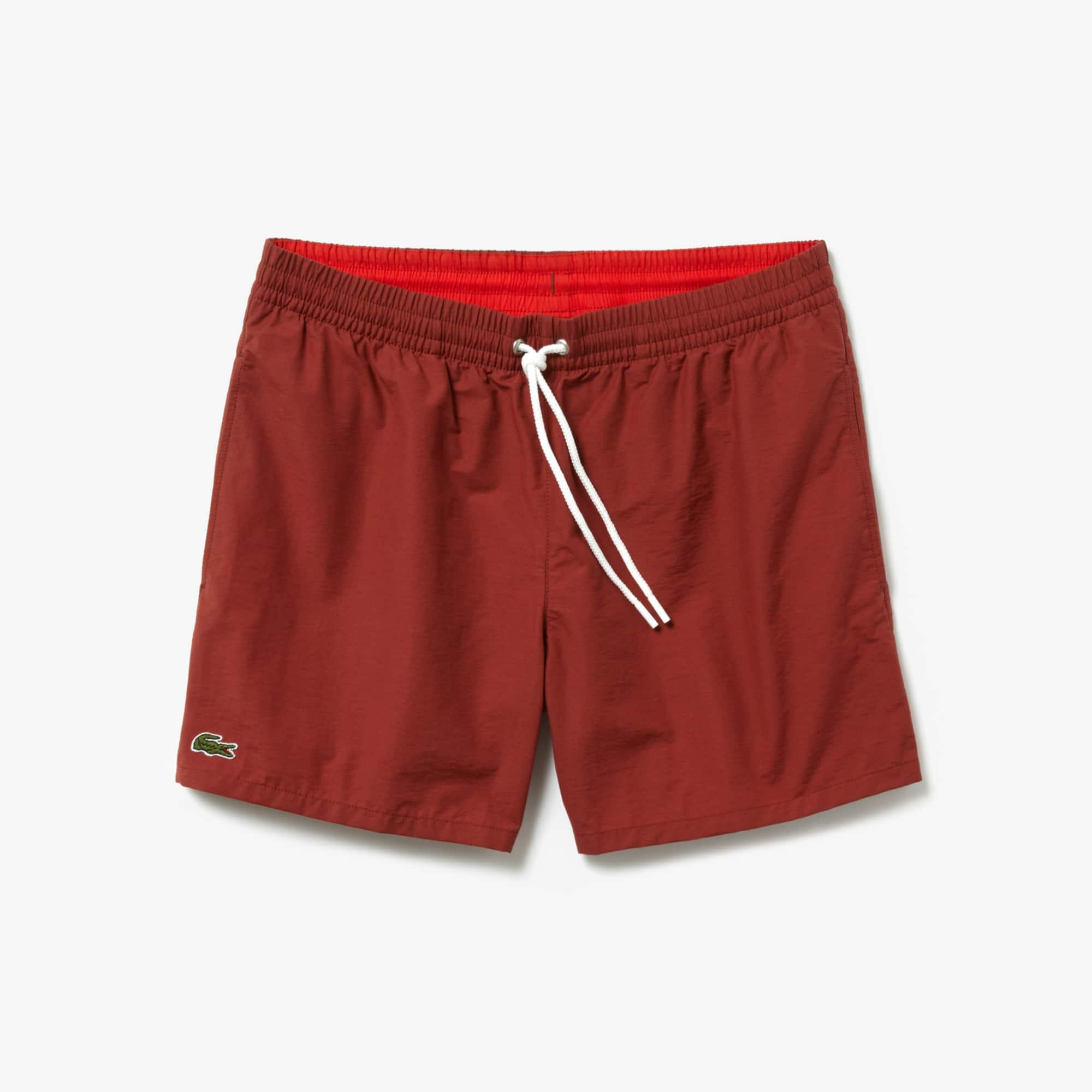 83ca1df2 Men's Swimming trunks in taffeta | LACOSTE