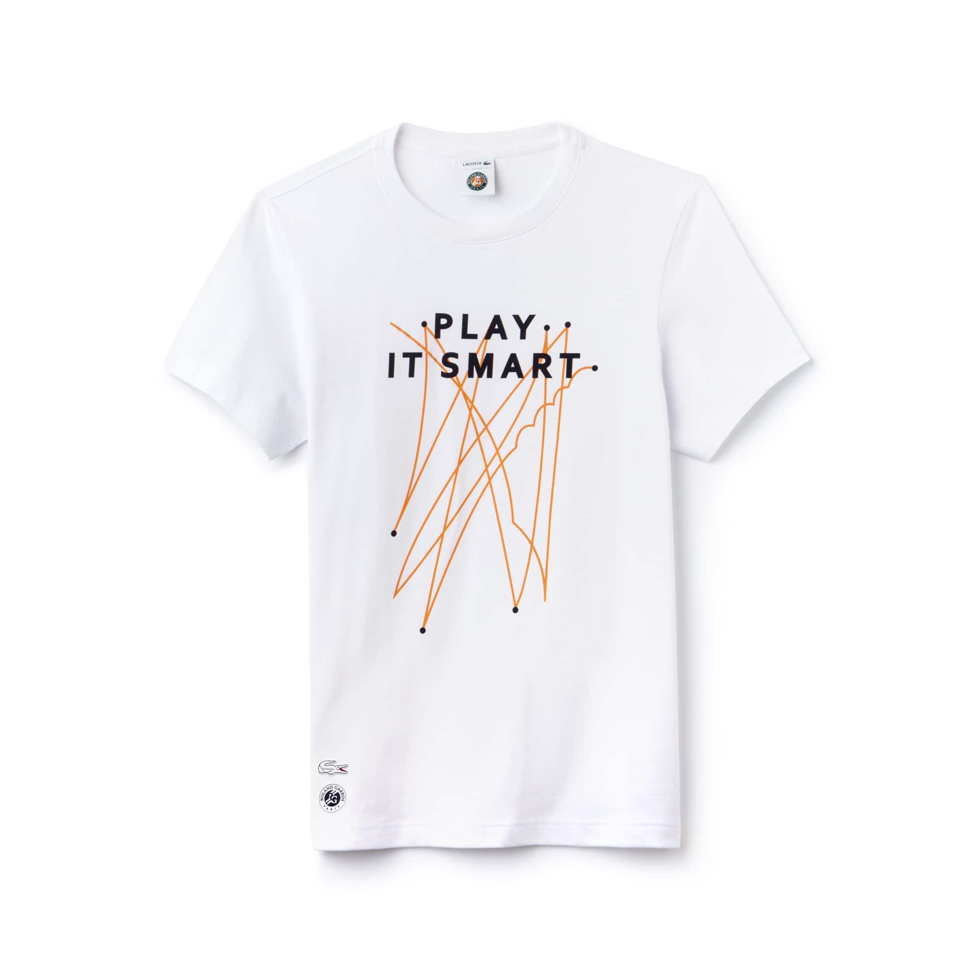 Men's Lacoste SPORT Roland Garros Edition Technical Jersey T-shirt