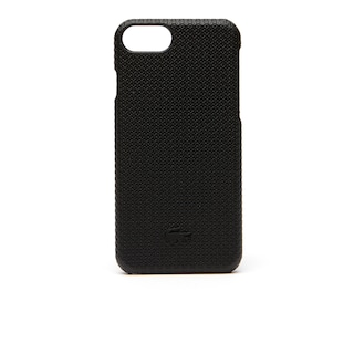 Men's Chantaco Matte Piqué Leather iPhone 8 Shell