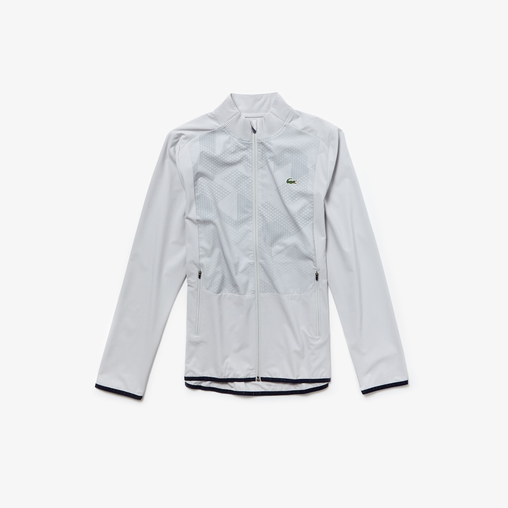 Men's Lacoste SPORT Water-Resistant Stretch Zip Golf Jacket
